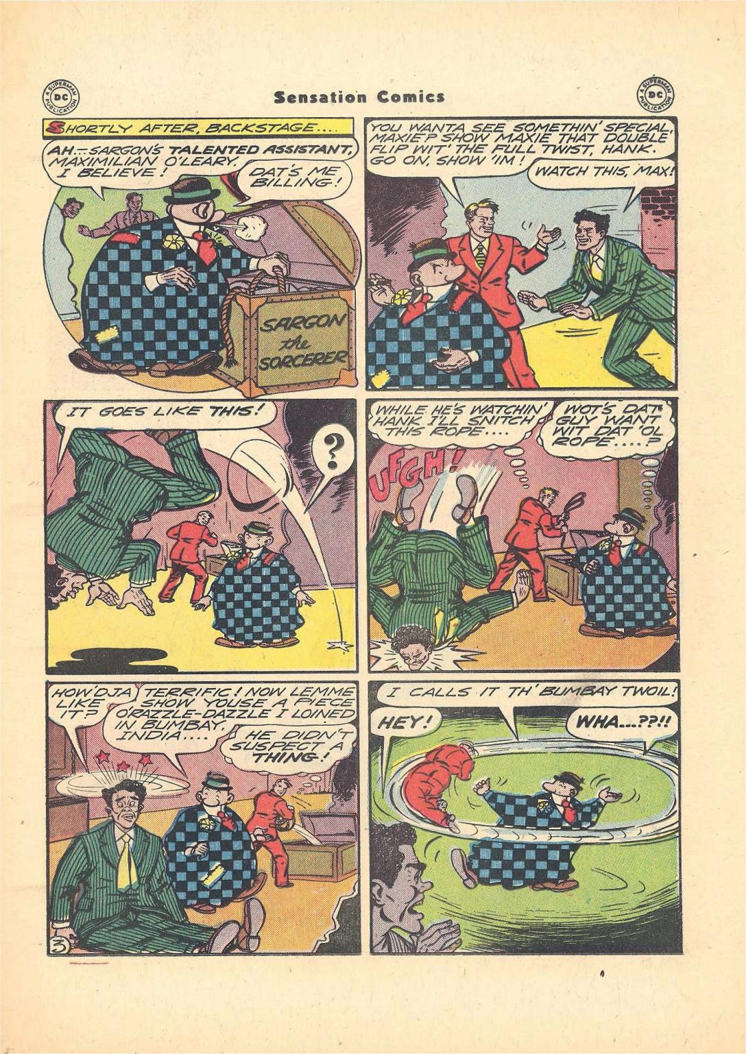 Read online Sensation (Mystery) Comics comic -  Issue #55 - 27