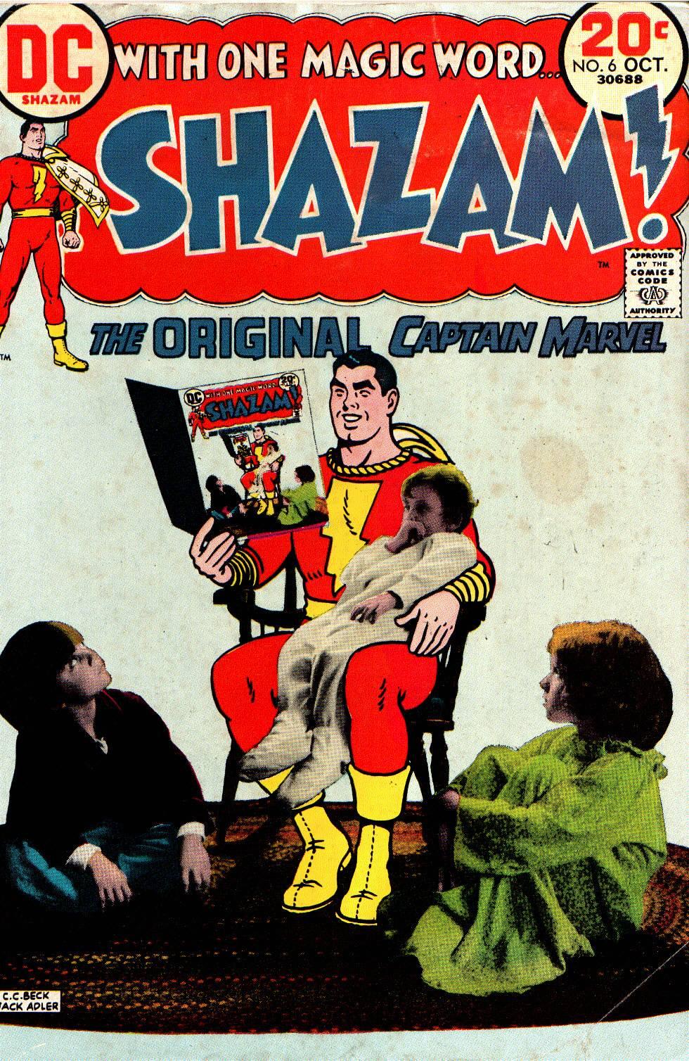 Read online Shazam! (1973) comic -  Issue #6 - 1