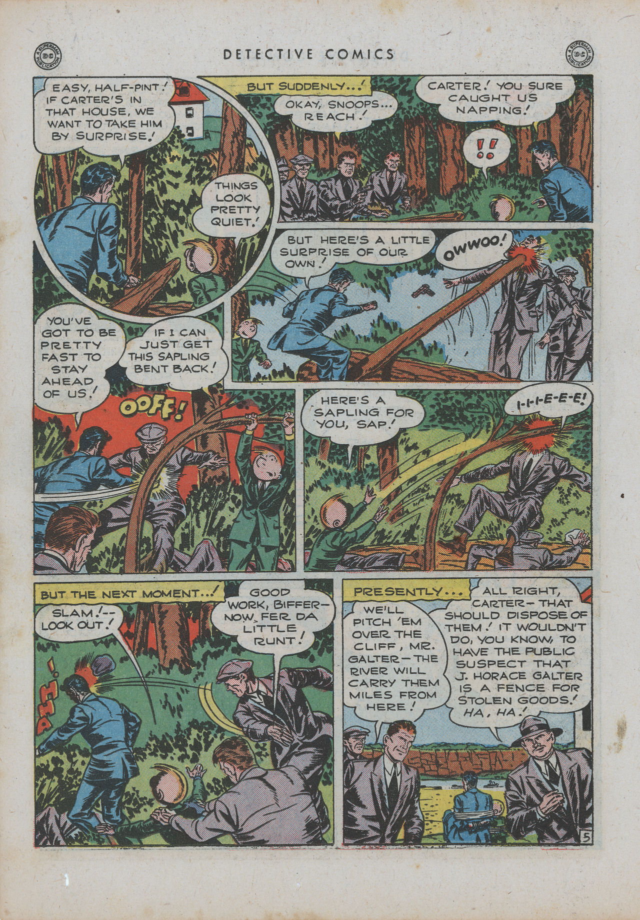 Read online Detective Comics (1937) comic -  Issue #99 - 21