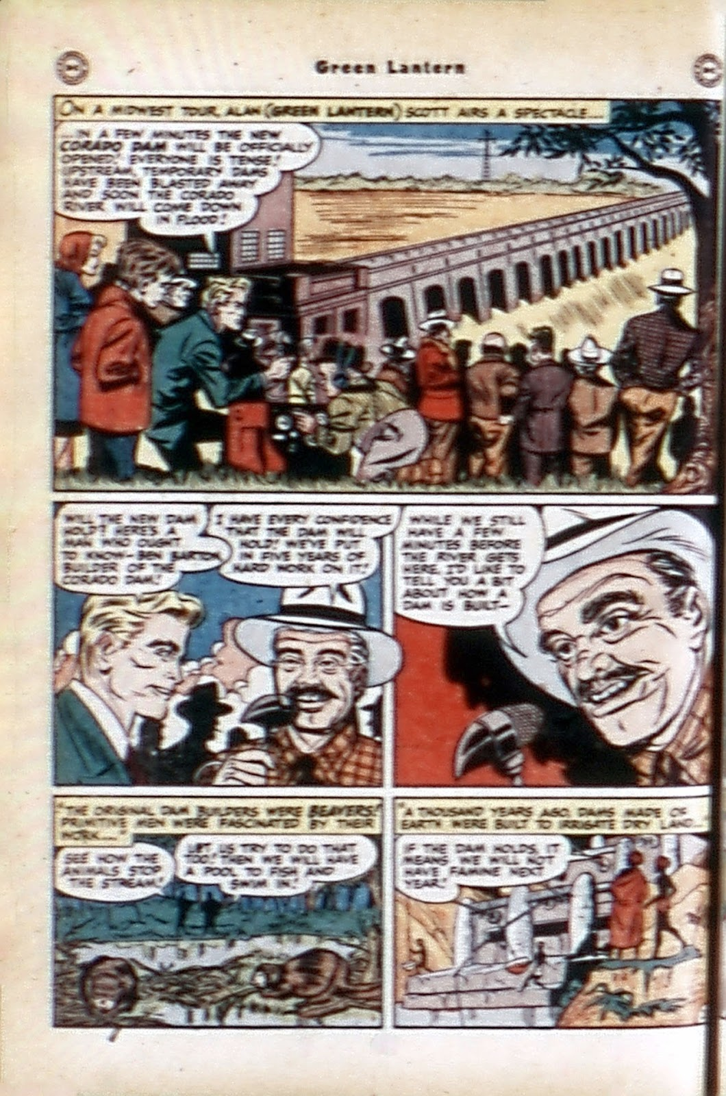 Green Lantern (1941) Issue #32 #32 - English 37