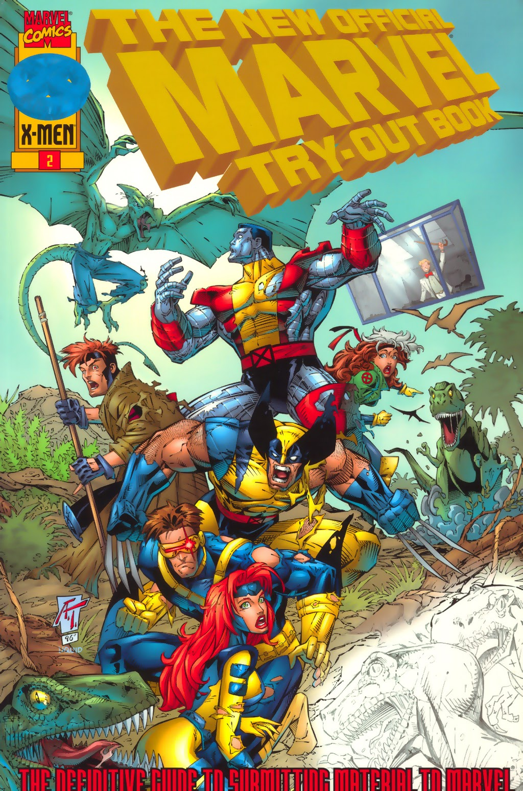 Read online The New Official Marvel Try-Out Book comic -  Issue # Full - 1