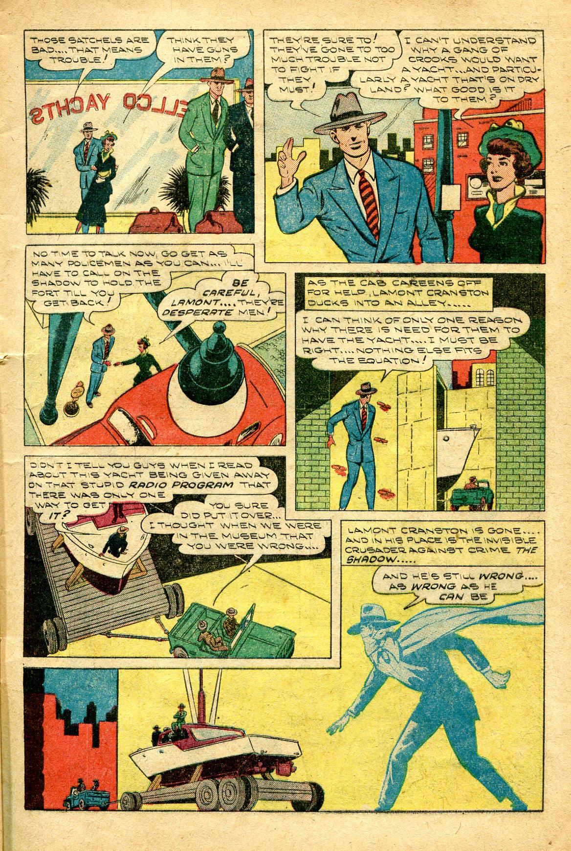 Read online Shadow Comics comic -  Issue #96 - 13