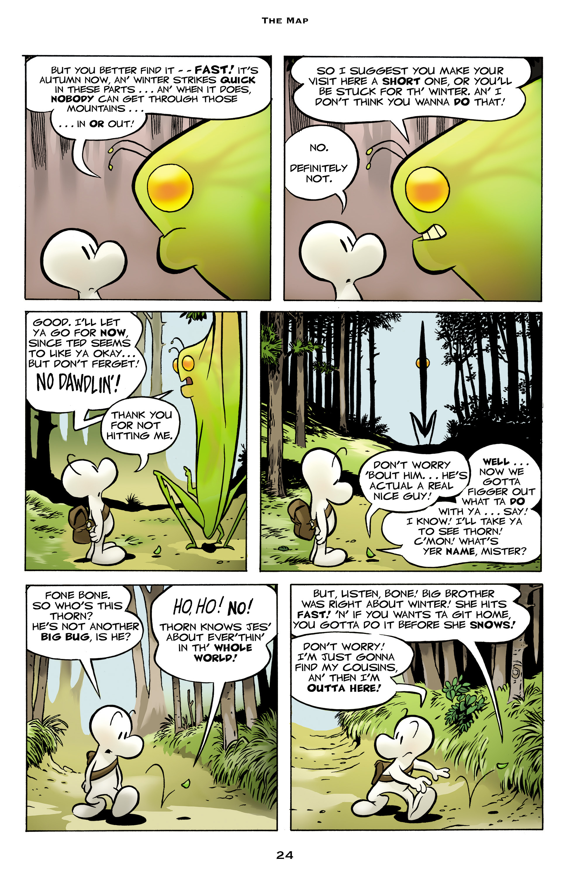 Read online Bone: Out From Boneville comic -  Issue # TPB - 24