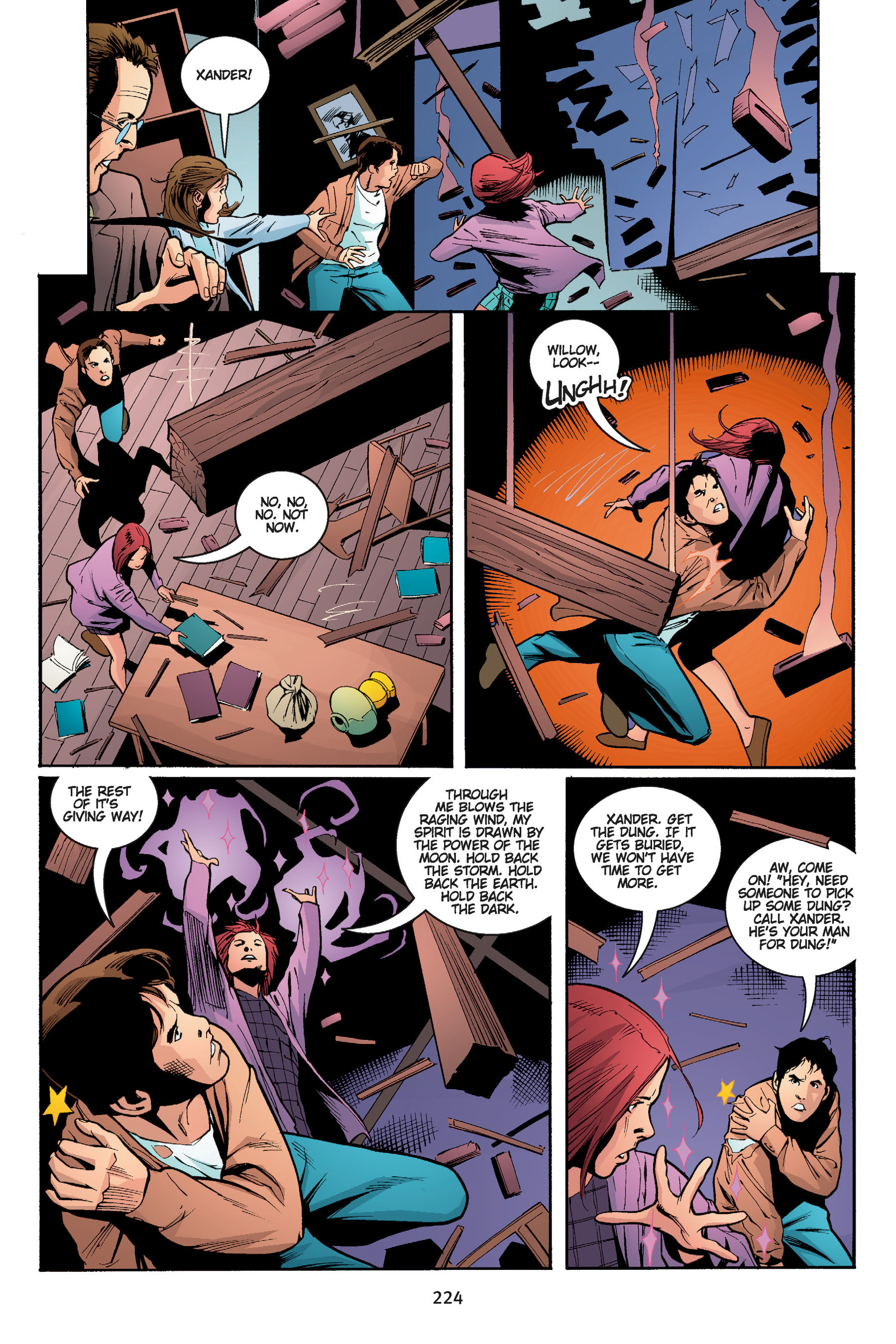 Read online Buffy the Vampire Slayer: Omnibus comic -  Issue # TPB 5 - 224