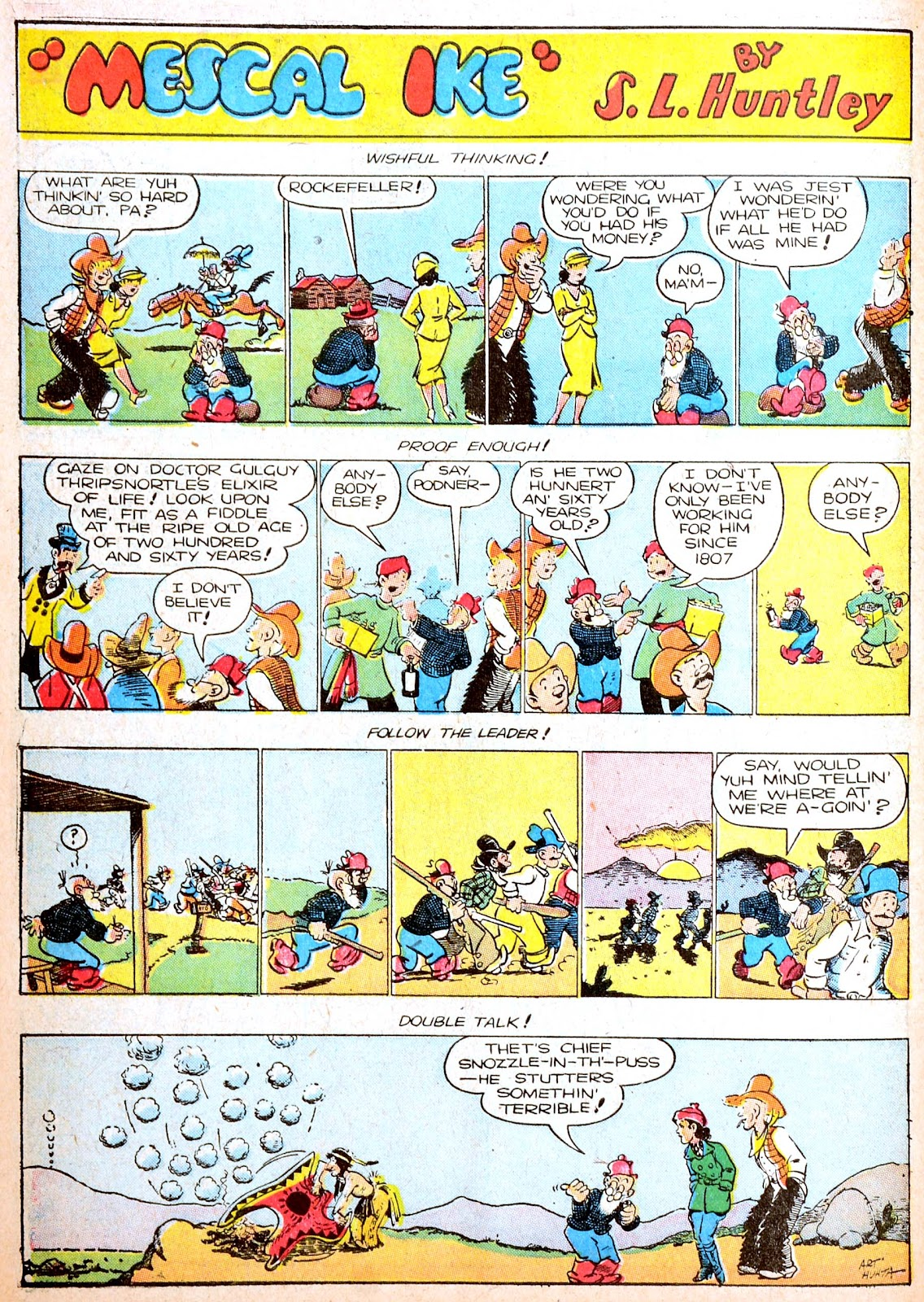 Read online Famous Funnies comic -  Issue #88 - 55