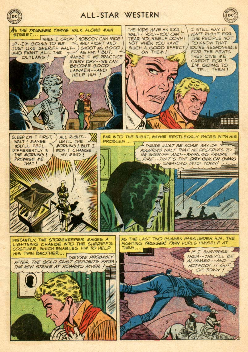 Read online All-Star Western (1951) comic -  Issue #97 - 4