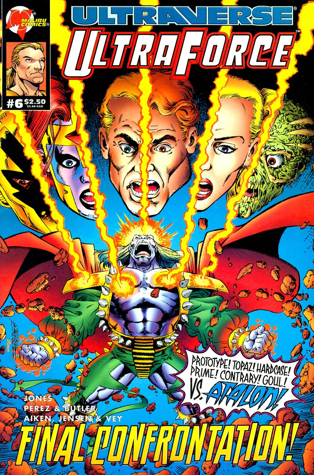 Read online UltraForce (1994) comic -  Issue #6 - 1