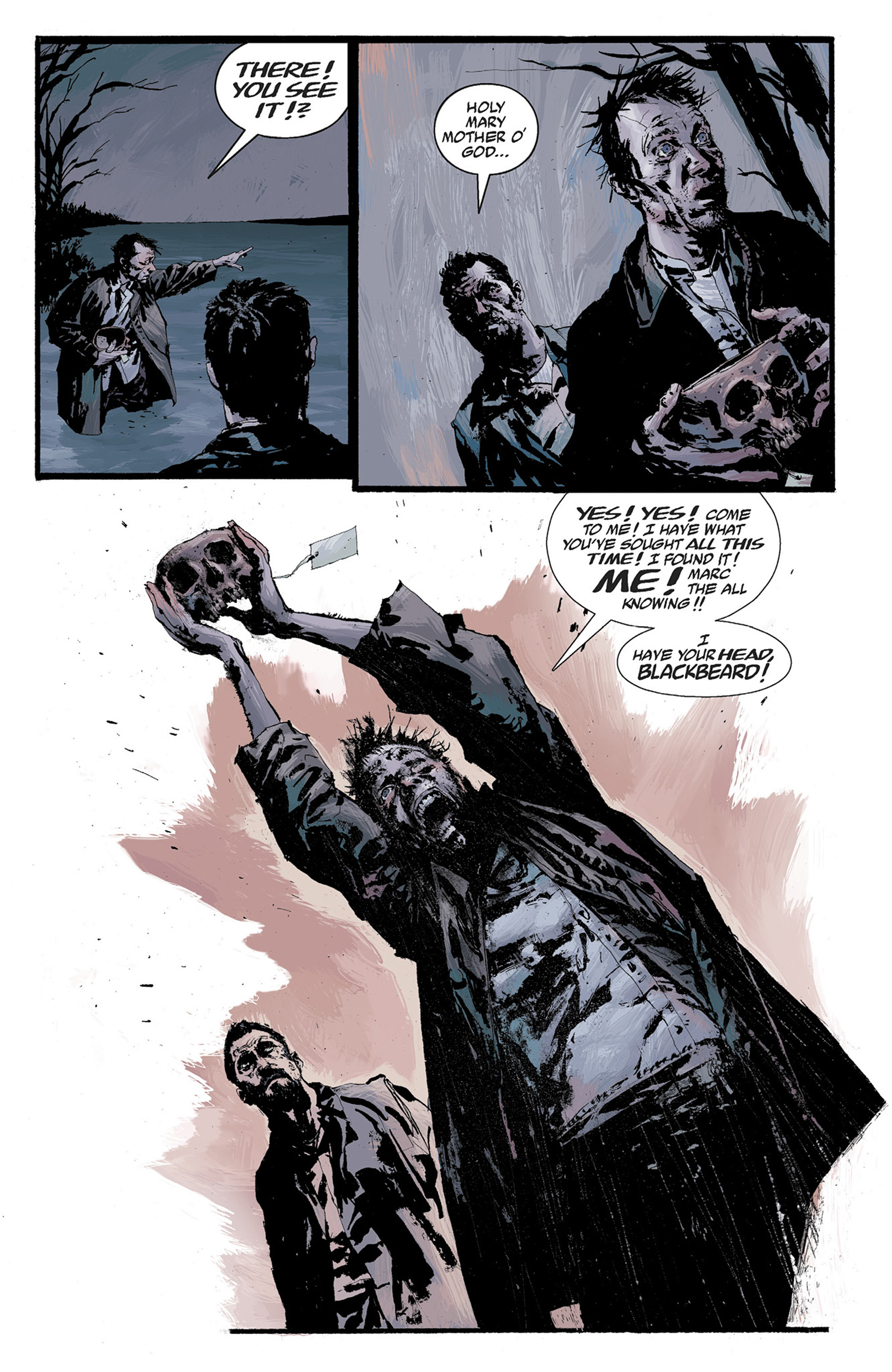 Read online Hellboy: The Crooked Man and Others comic -  Issue # TPB - 91