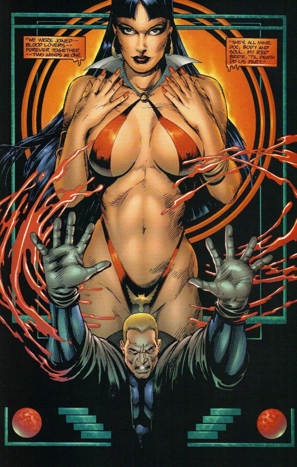 Vampirella vs Hemorrhage issue 1 - Page 12