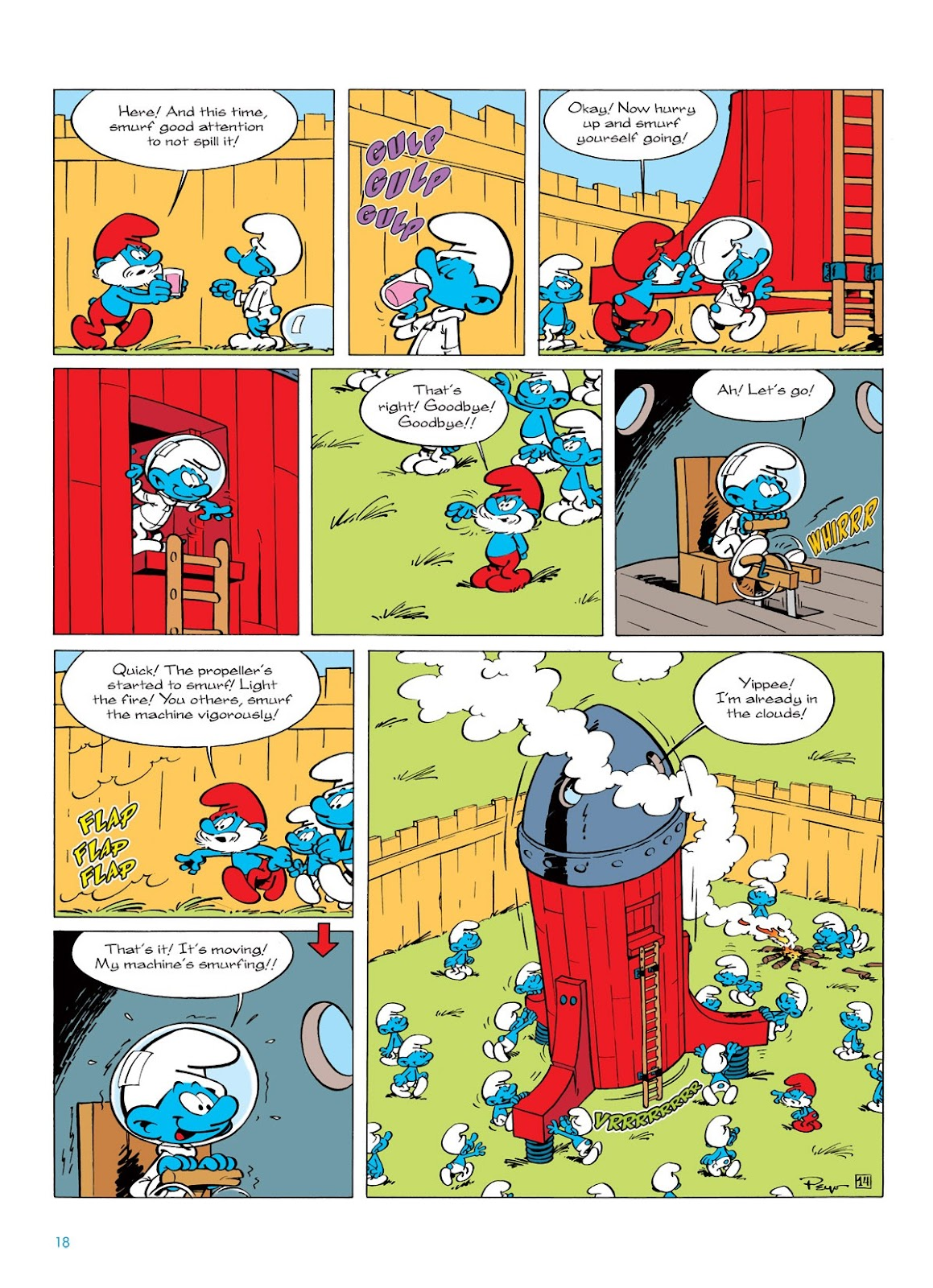 Read online The Smurfs comic -  Issue #7 - 18