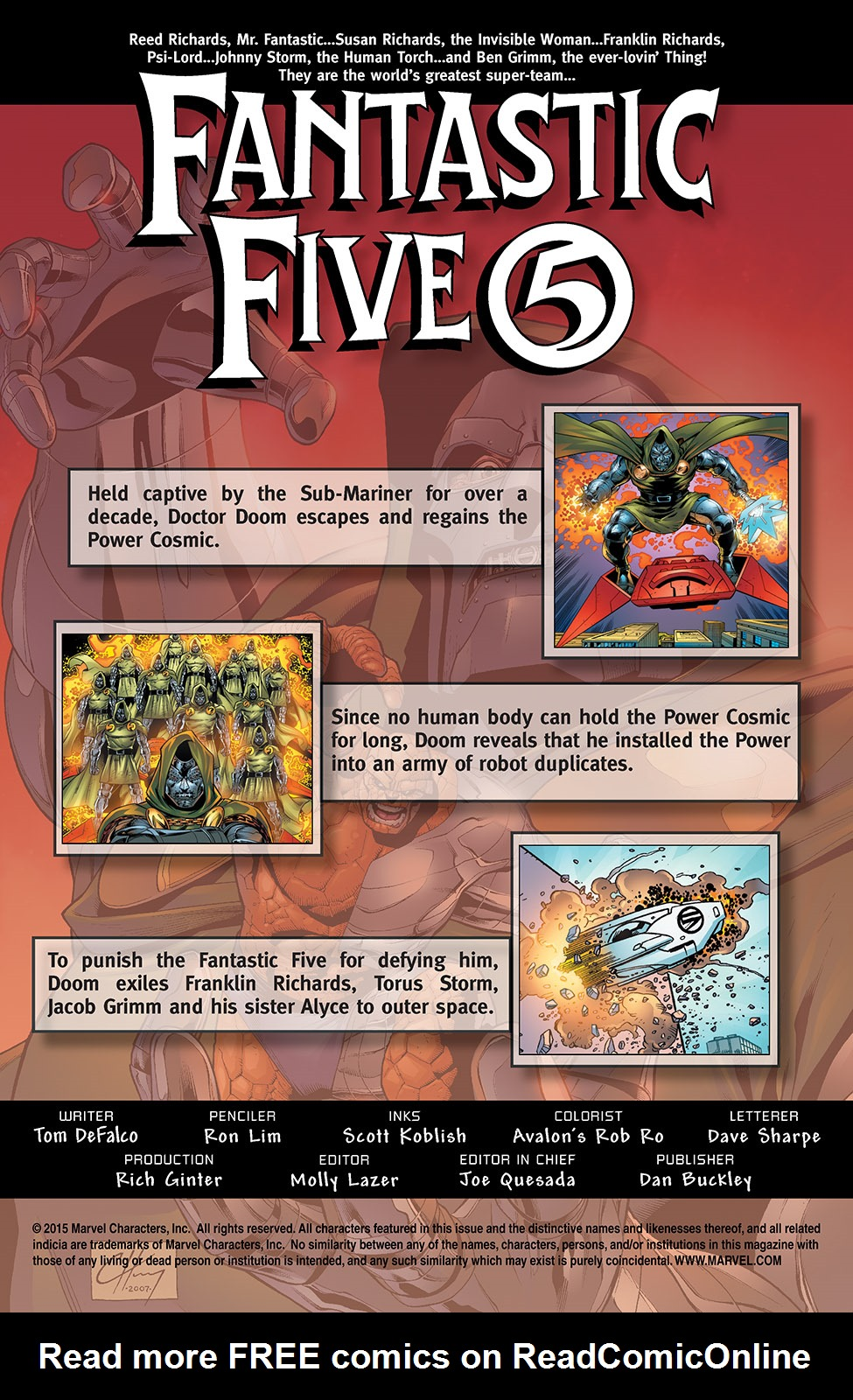 Read online Fantastic Five (2007) comic -  Issue #4 - 2
