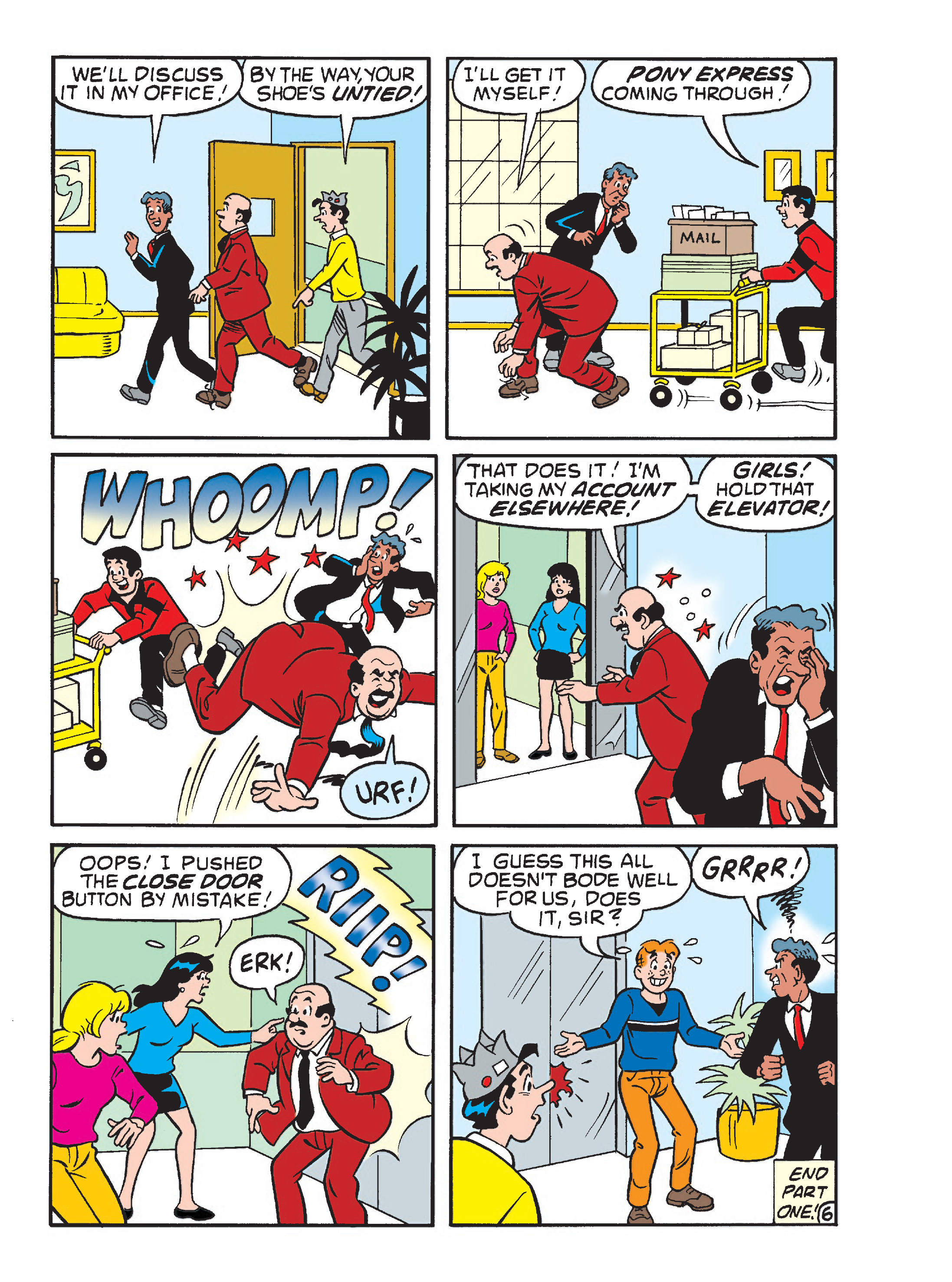 Read online Archie's Funhouse Double Digest comic -  Issue #23 - 98