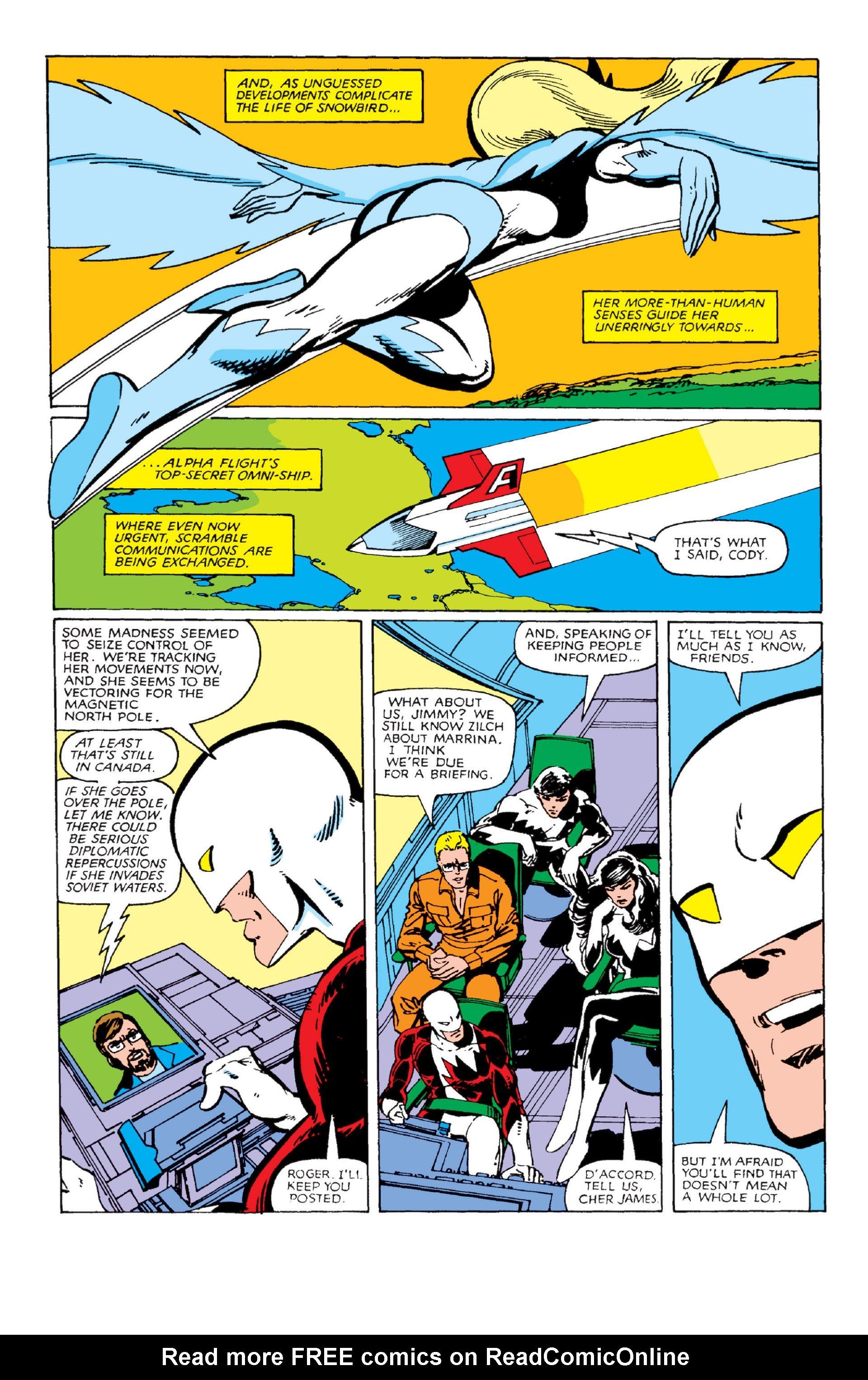 Read online Alpha Flight (1983) comic -  Issue #2 - 12