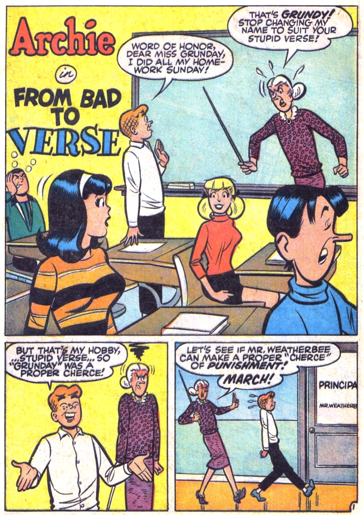 Read online Archie (1960) comic -  Issue #179 - 20