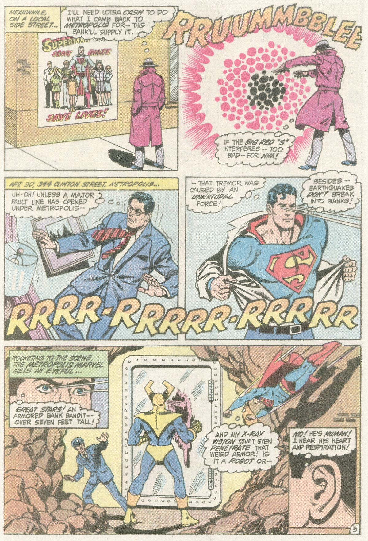 Read online Action Comics (1938) comic -  Issue #565 - 7