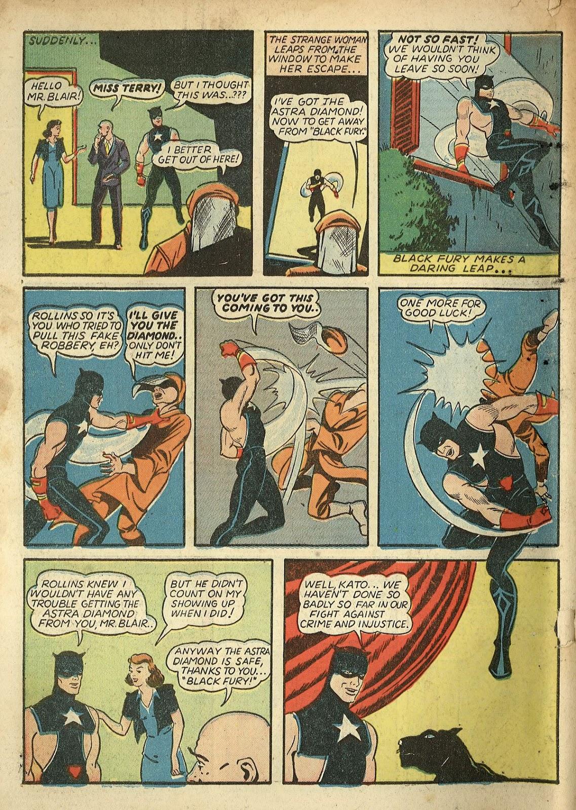 Read online Super-Magician Comics comic -  Issue #1 - 66