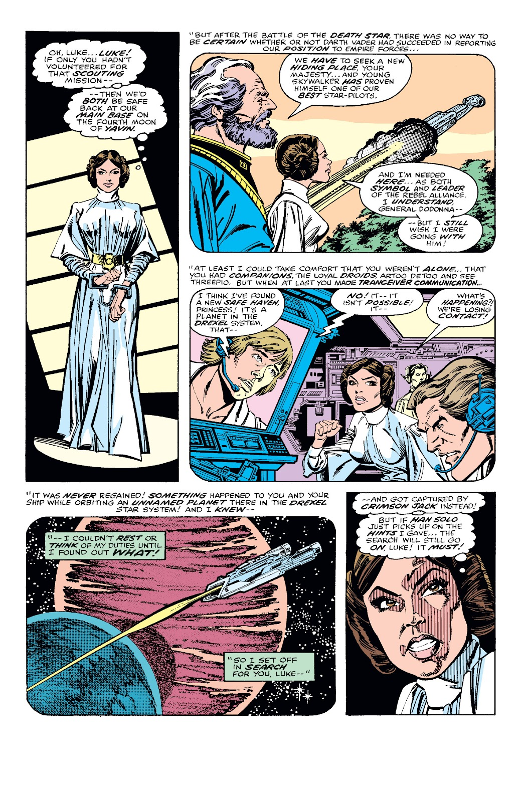 Read online Star Wars Legends: The Original Marvel Years - Epic Collection comic -  Issue # TPB 1 (Part 3) - 2