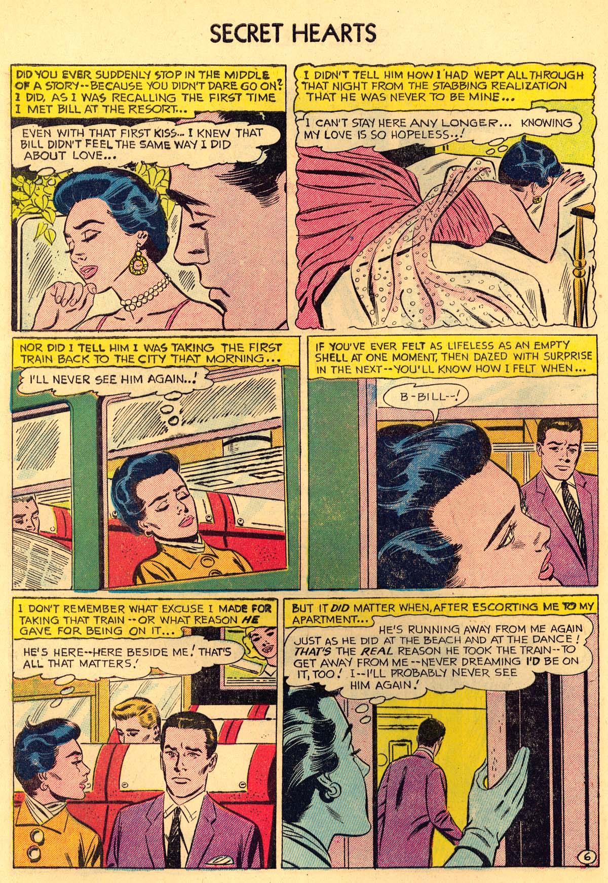 Read online Secret Hearts comic -  Issue #35 - 32