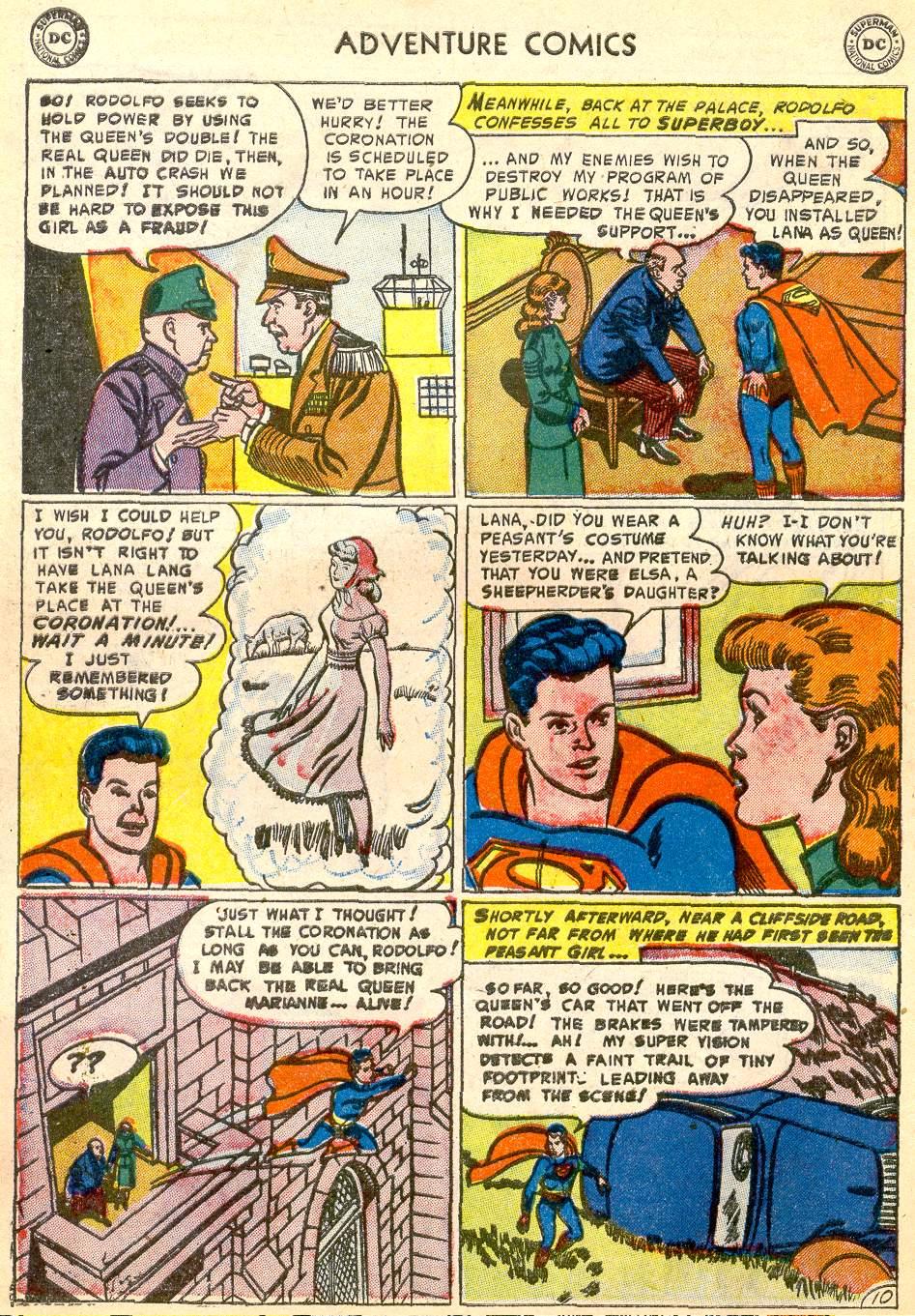 Read online Adventure Comics (1938) comic -  Issue #192 - 12