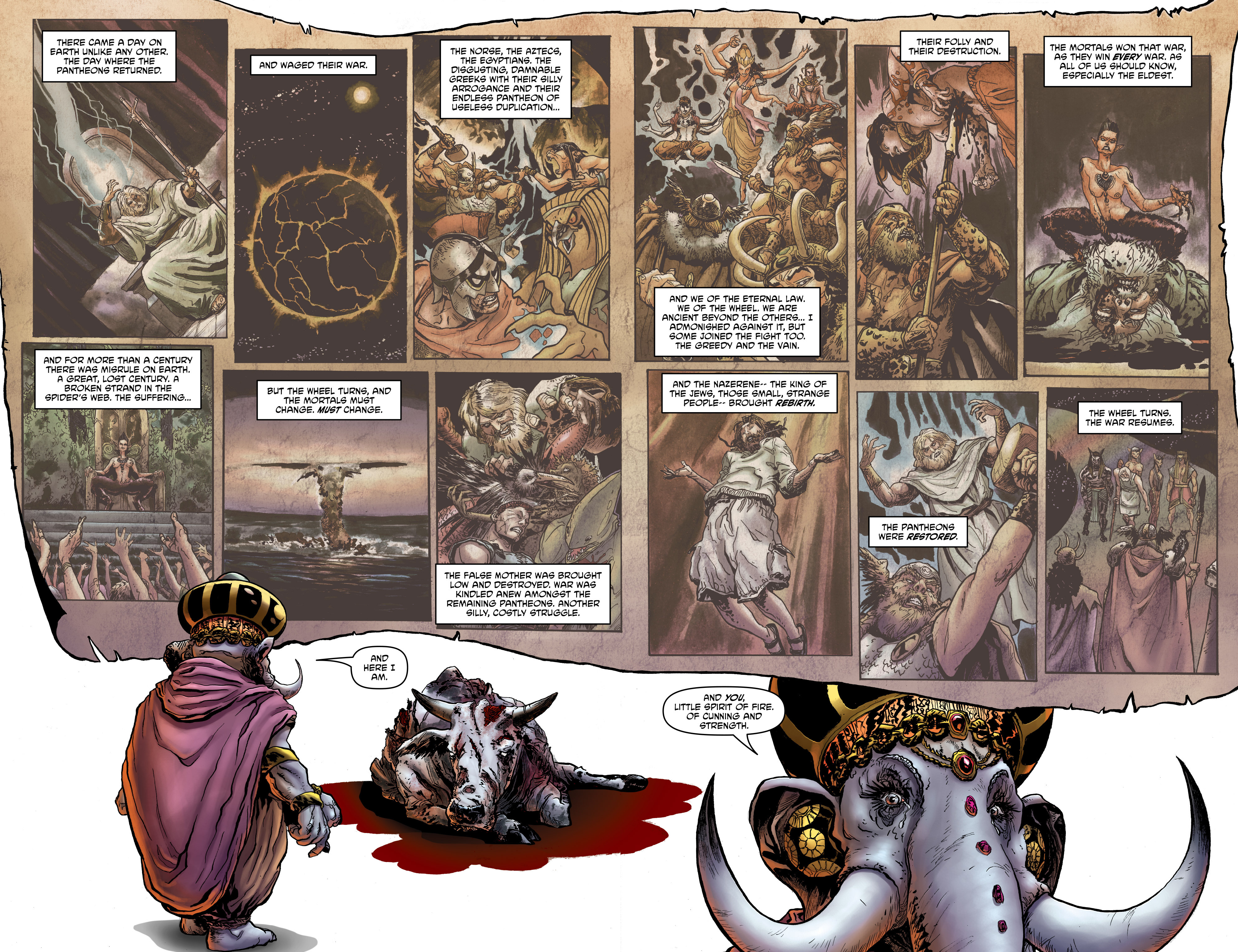 Read online God is Dead: Book of Acts comic -  Issue # Alpha - 11