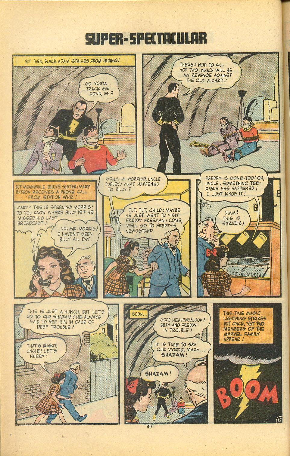 Read online Shazam! (1973) comic -  Issue #8 - 40
