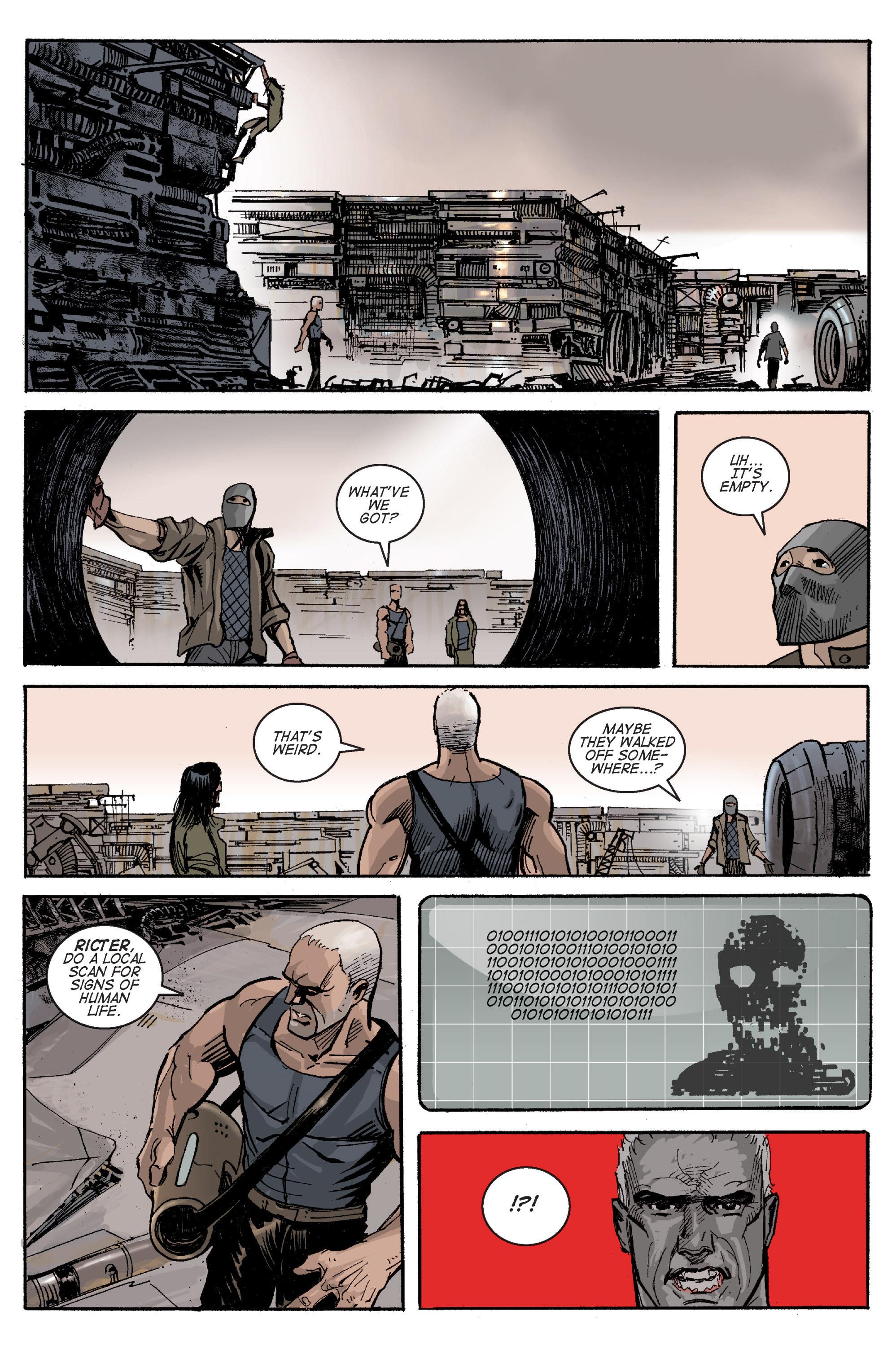 Read online Planetoid comic -  Issue # TPB - 113