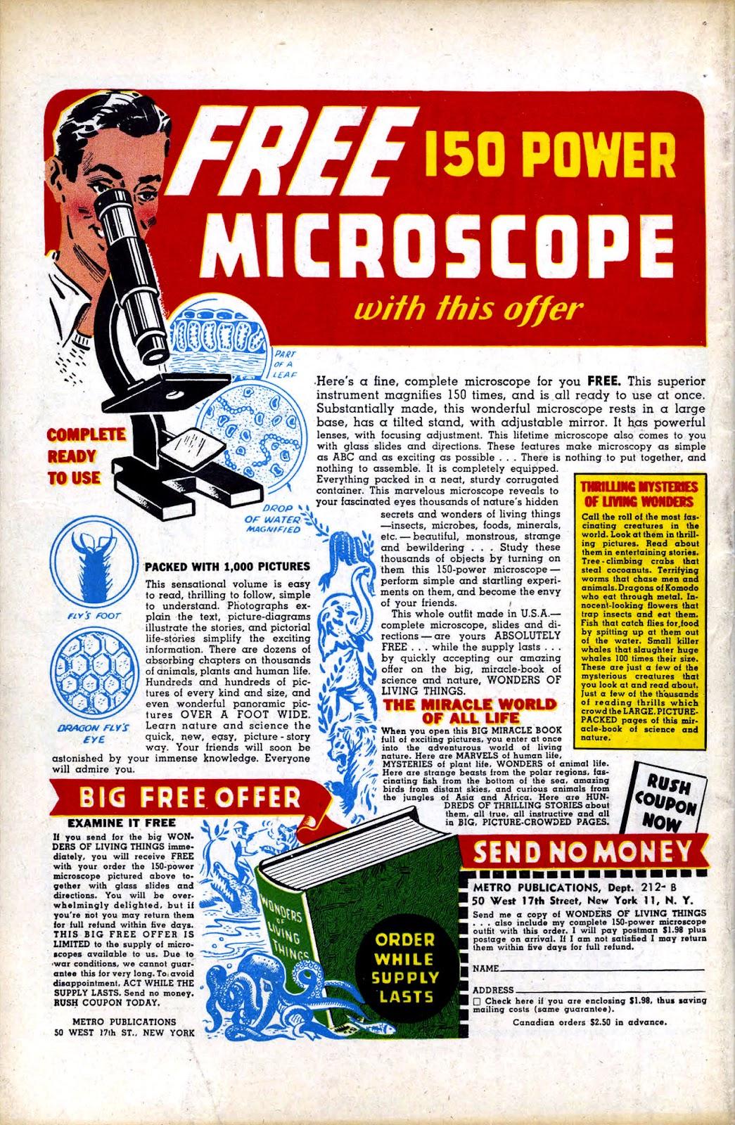 Read online Mystic Comics (1944) comic -  Issue #4 - 36