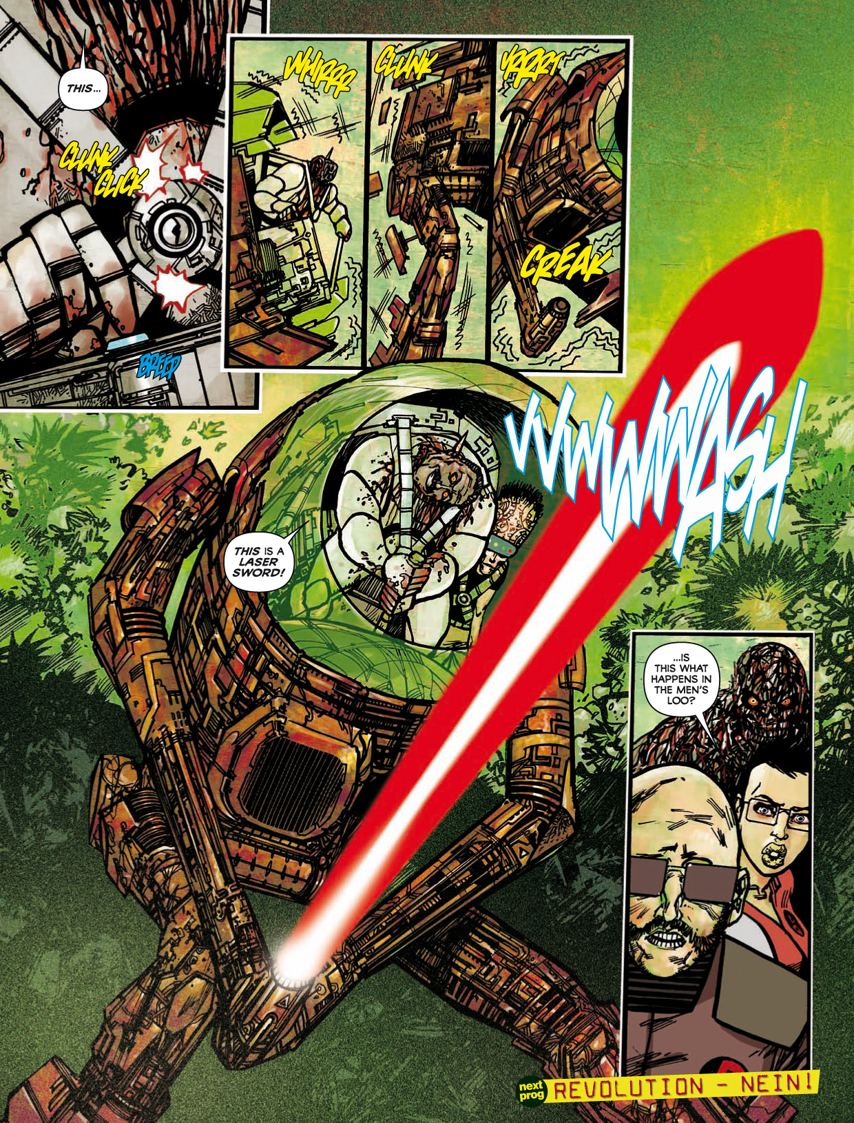 Read online 2000 AD comic -  Issue #1746 - 186