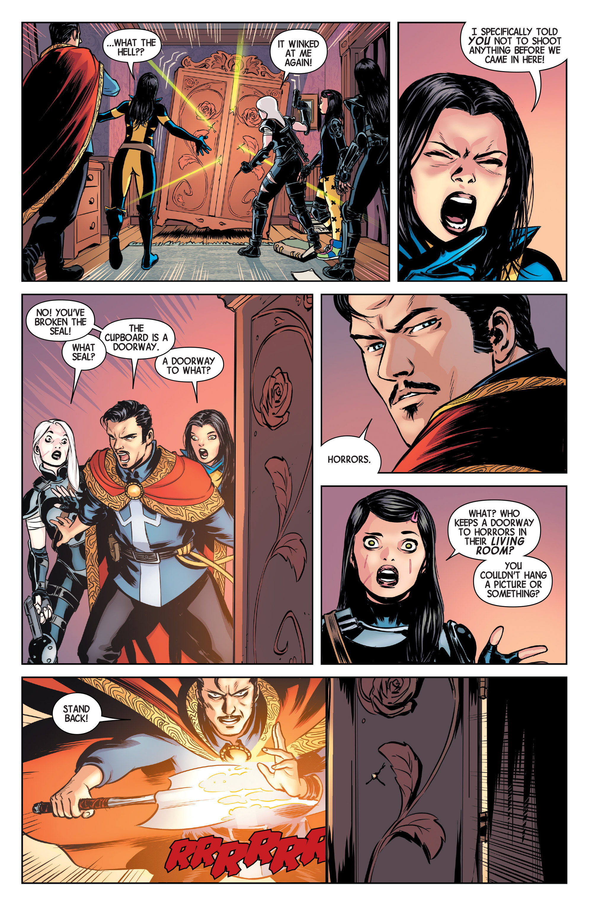 Read online All-New Wolverine (2016) comic -  Issue #4 - 9