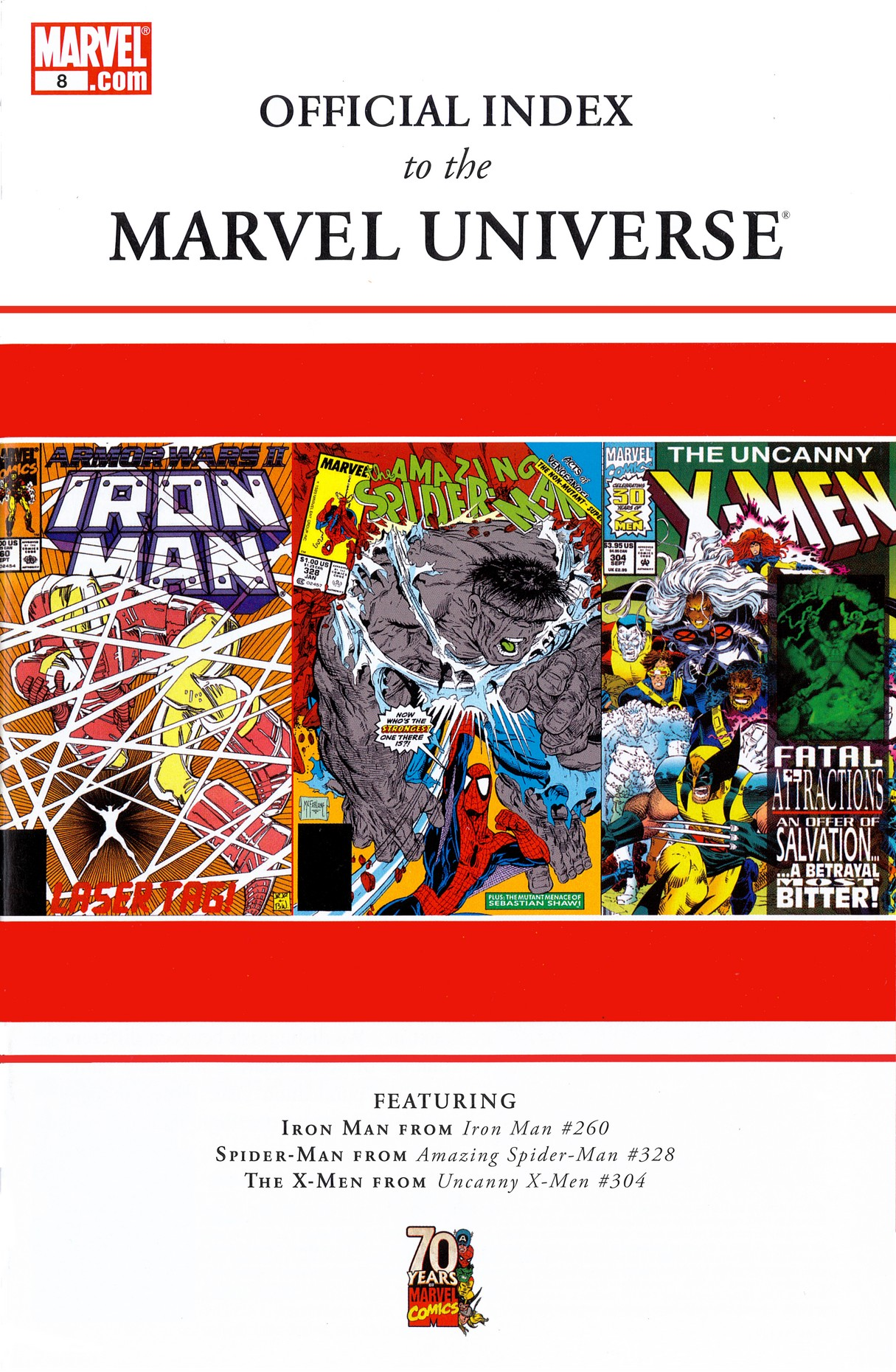 Read online Official Index to the Marvel Universe comic -  Issue #8 - 1