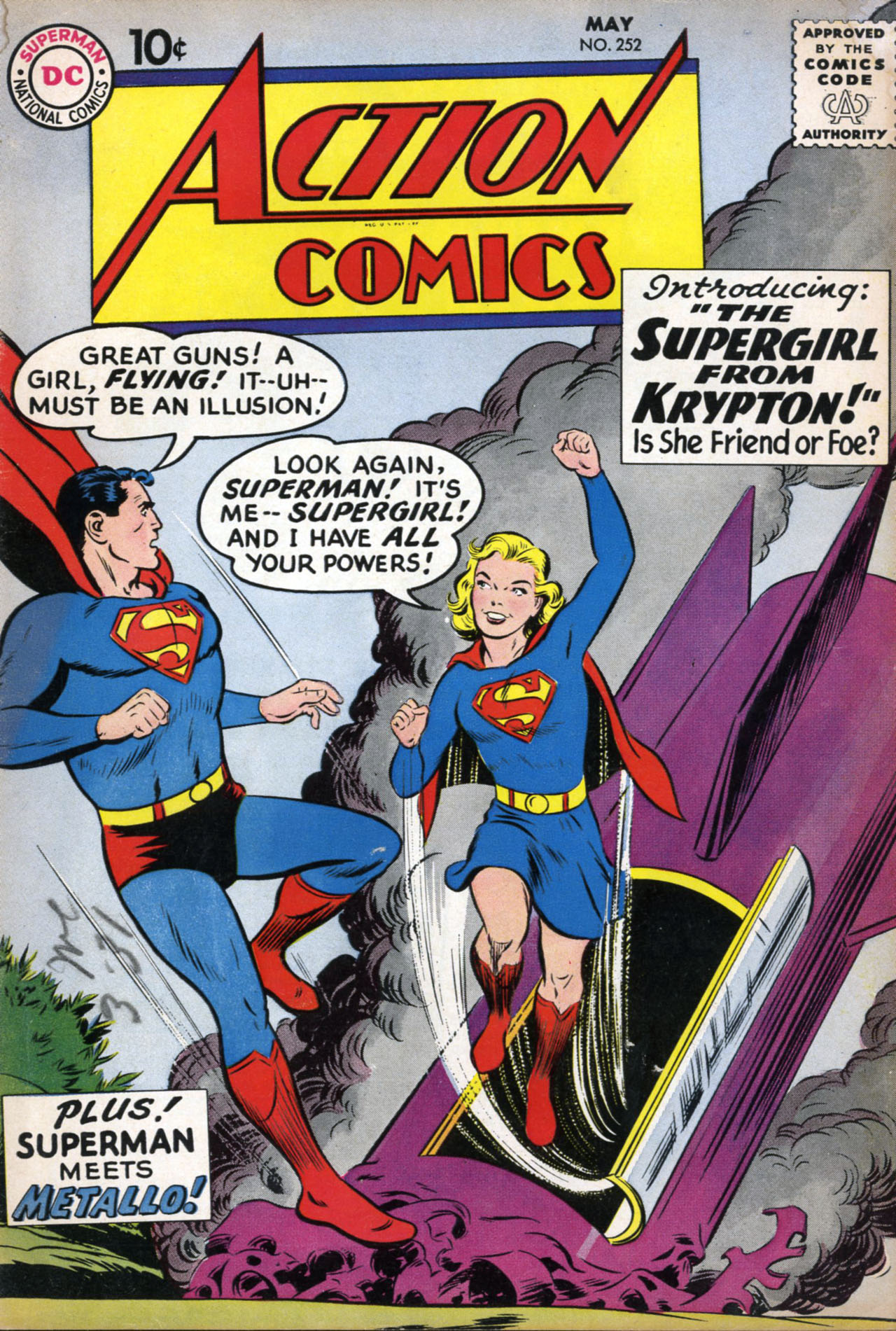 Read online Action Comics (1938) comic -  Issue #252 - 1
