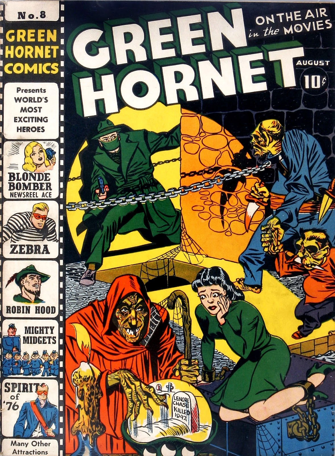 Green Hornet Comics issue 8 - Page 1