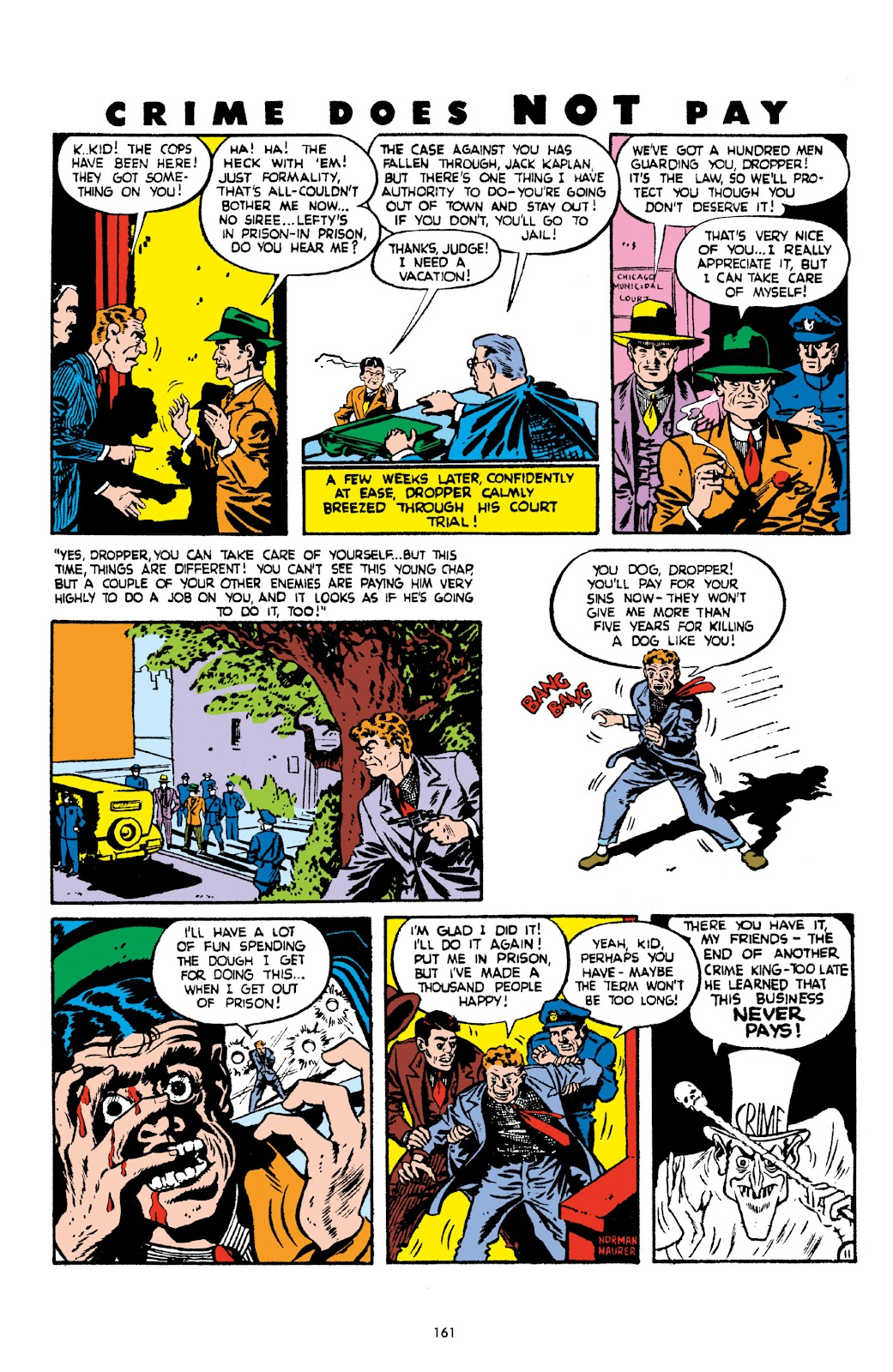 Read online Crime Does Not Pay Archives comic -  Issue # TPB 2 (Part 2) - 61
