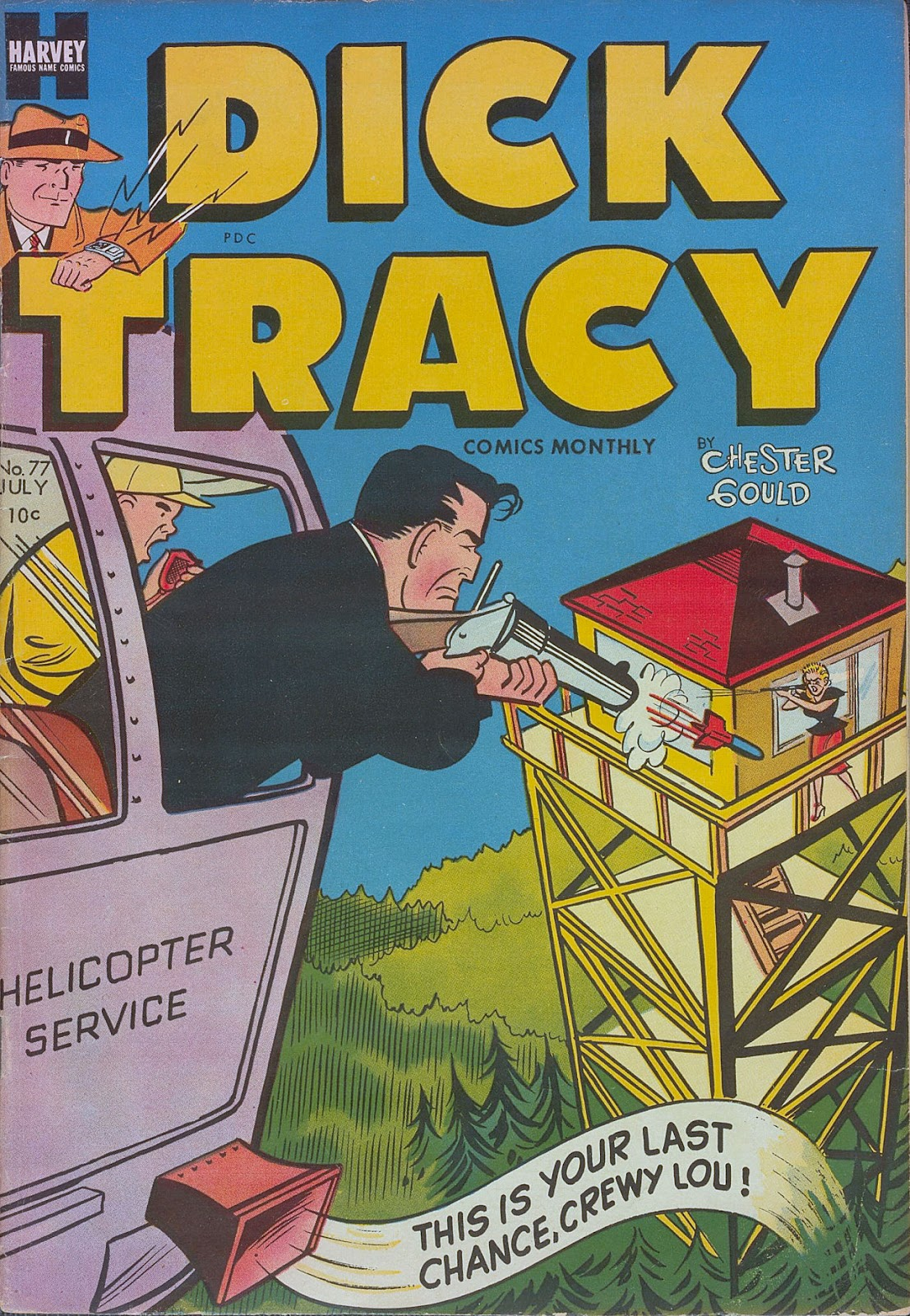 Dick Tracy (1950) 77 Page 1