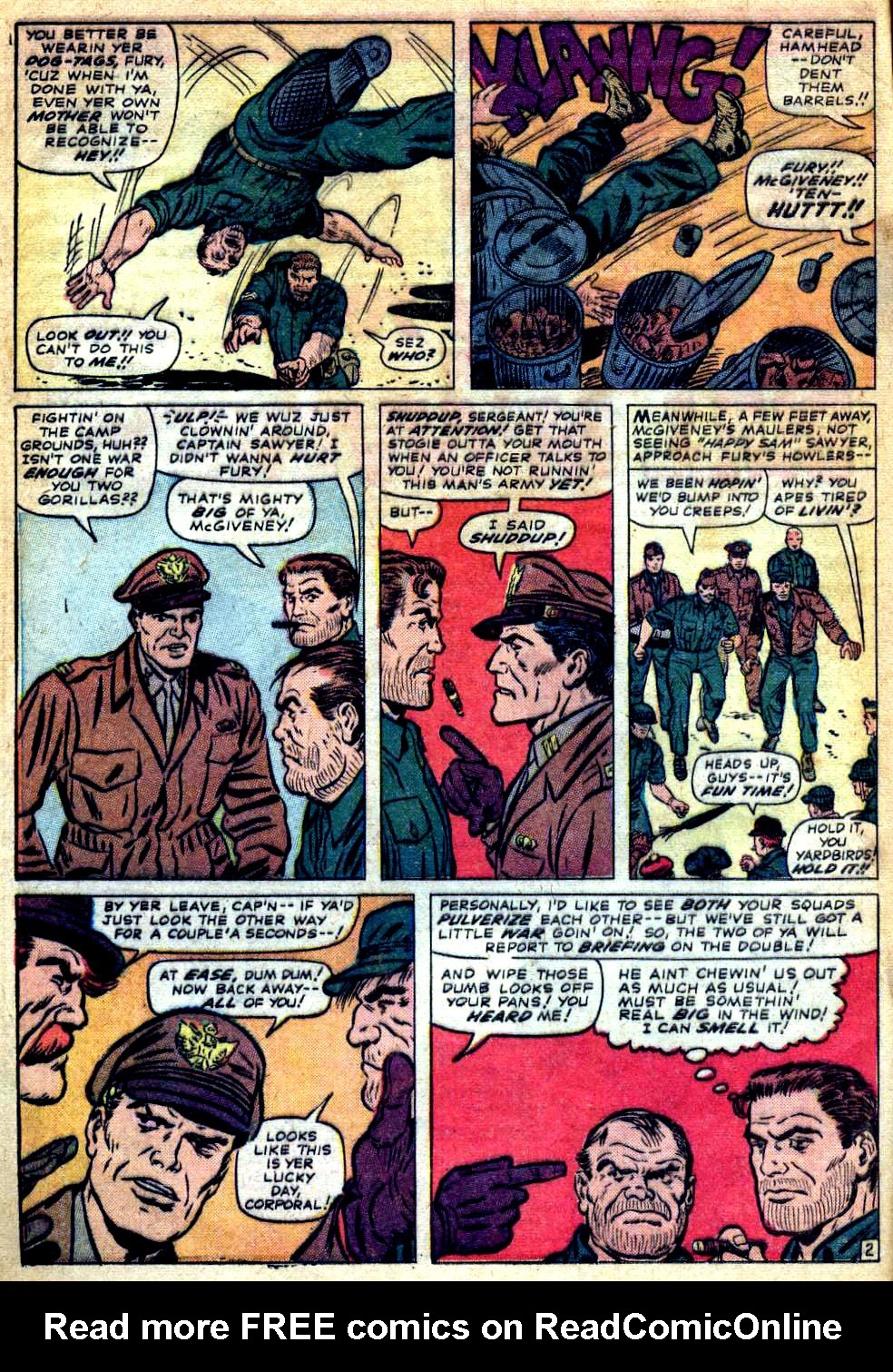 Read online Sgt. Fury comic -  Issue #22 - 4