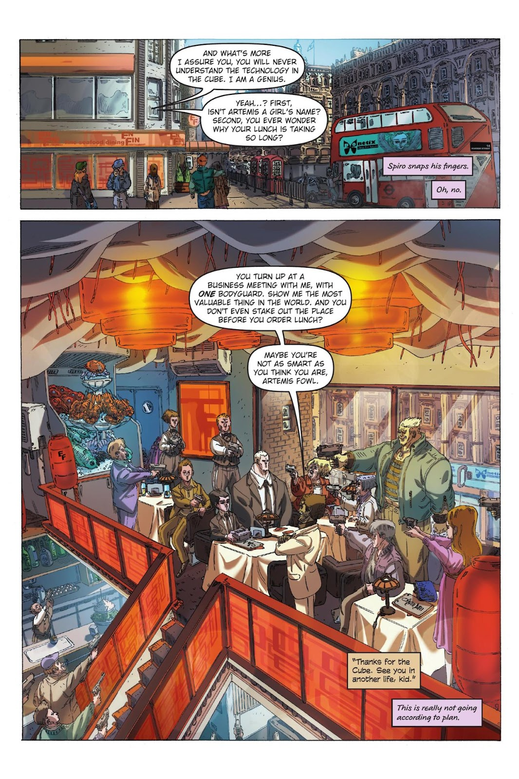 Artemis Fowl: The Eternity Code issue TPB - Page 13
