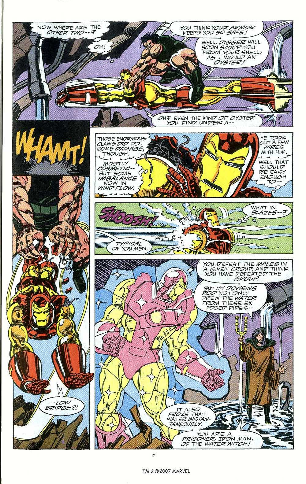 Iron Man Annual issue 12 - Page 19