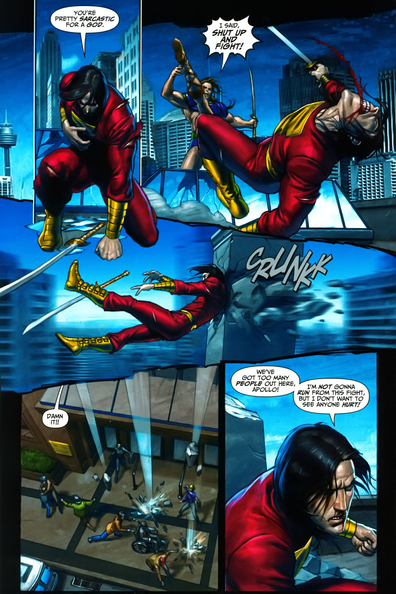 Read online Trials of Shazam comic -  Issue #9 - 5