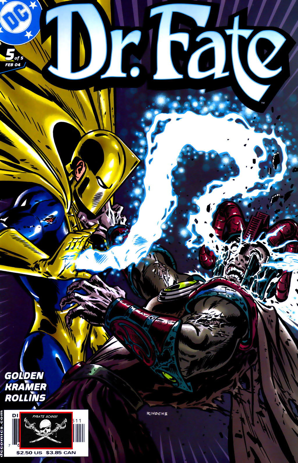 Read online Doctor Fate (2003) comic -  Issue #5 - 1