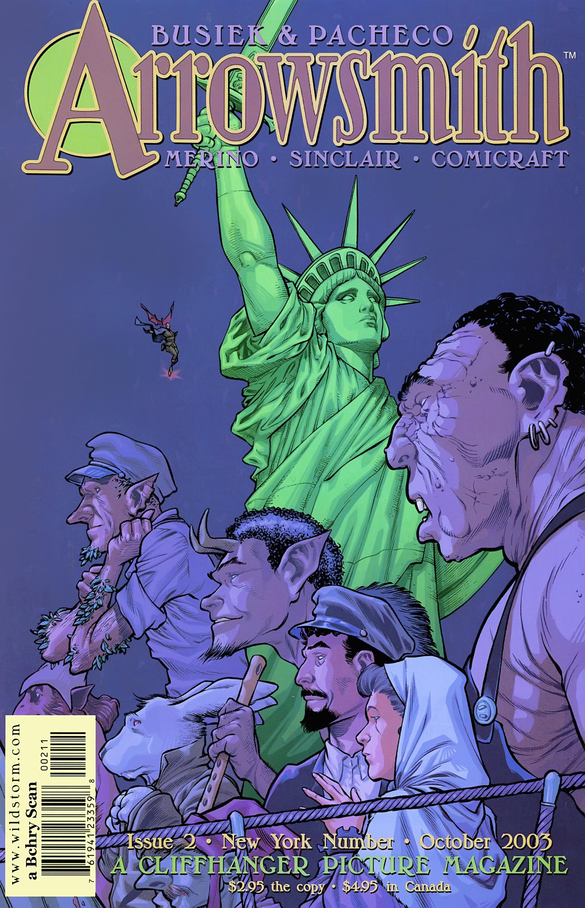 Read online Arrowsmith comic -  Issue #2 - 1