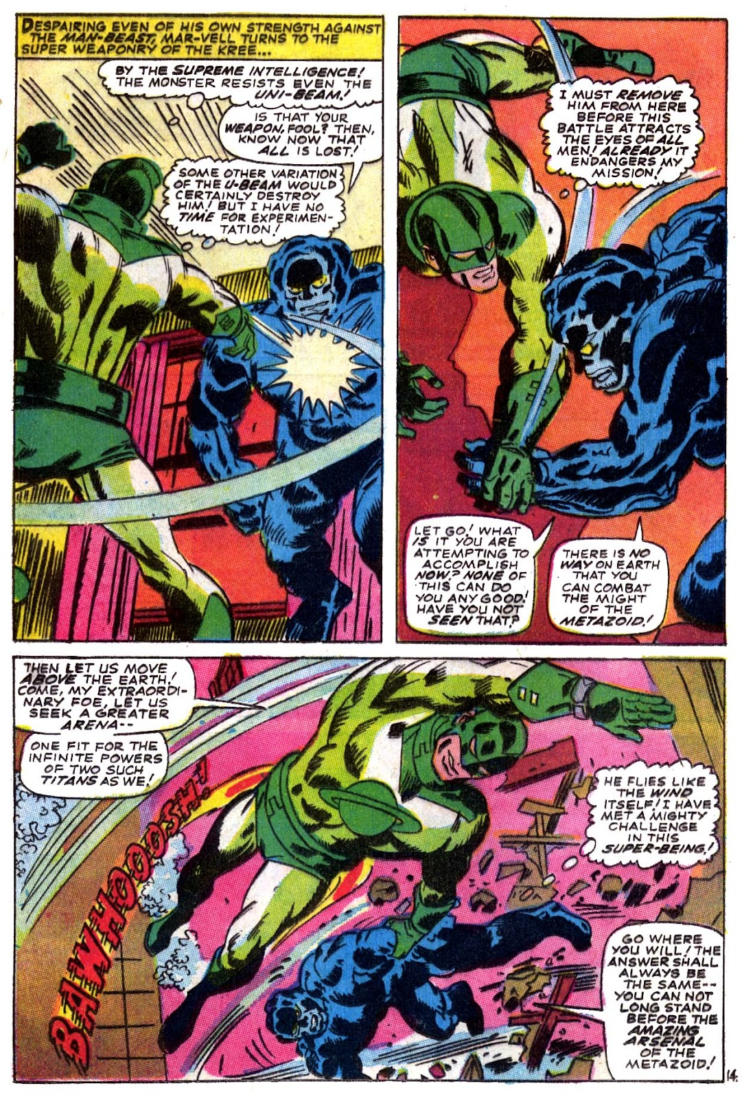 Captain Marvel (1968) issue 5 - Page 15