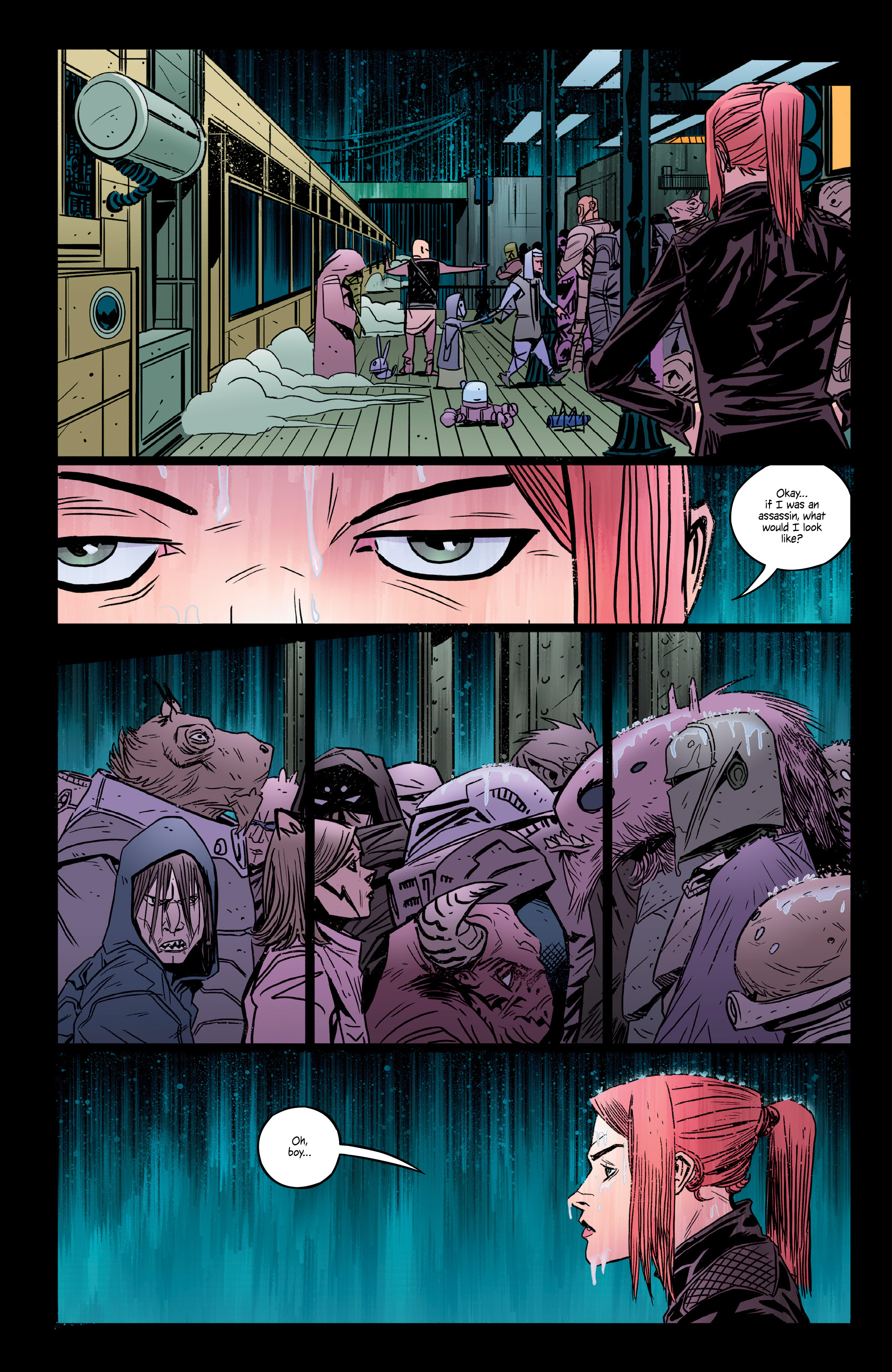 Read online Copperhead comic -  Issue #14 - 9