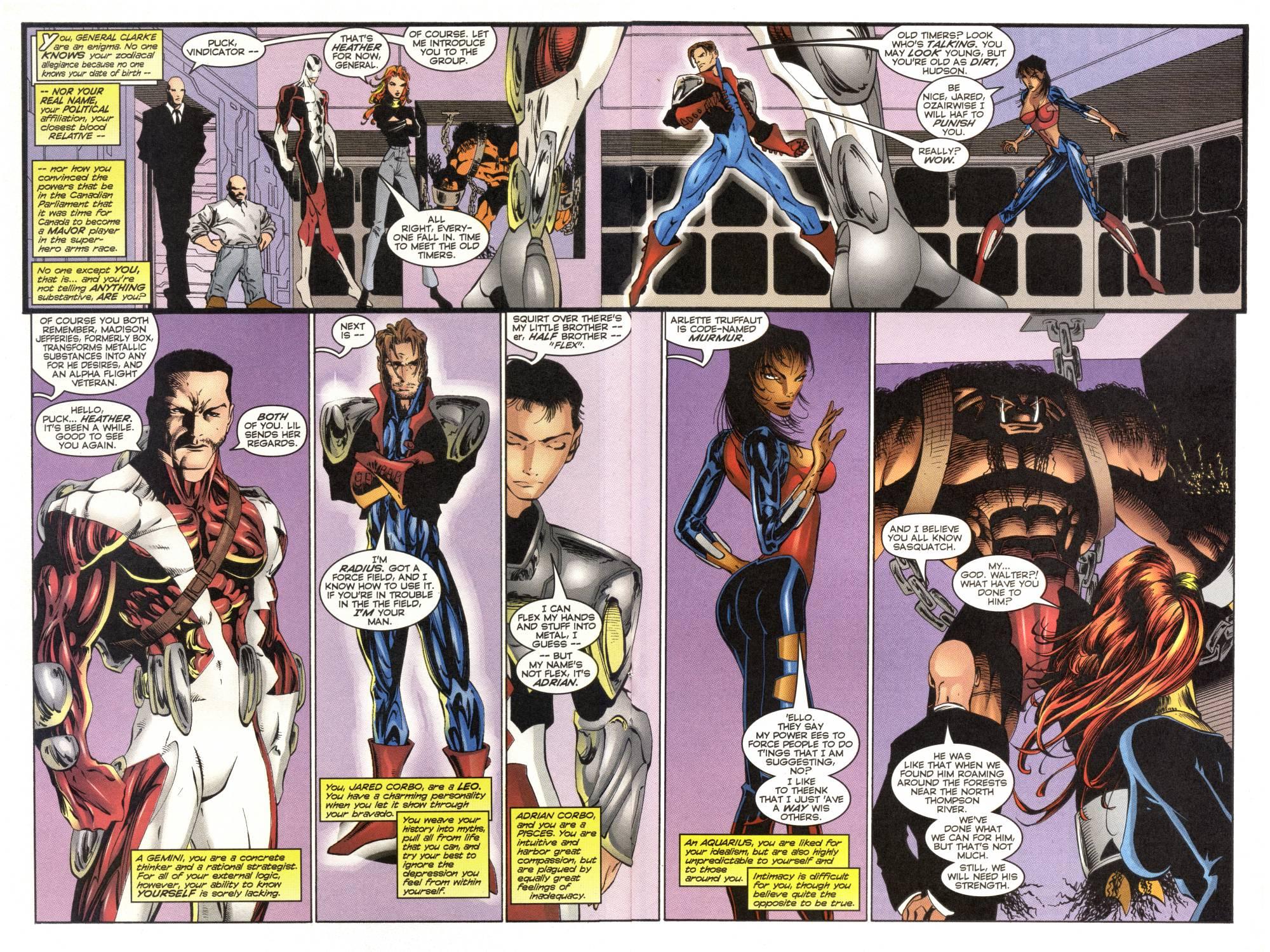 Read online Alpha Flight (1997) comic -  Issue #1 - 20