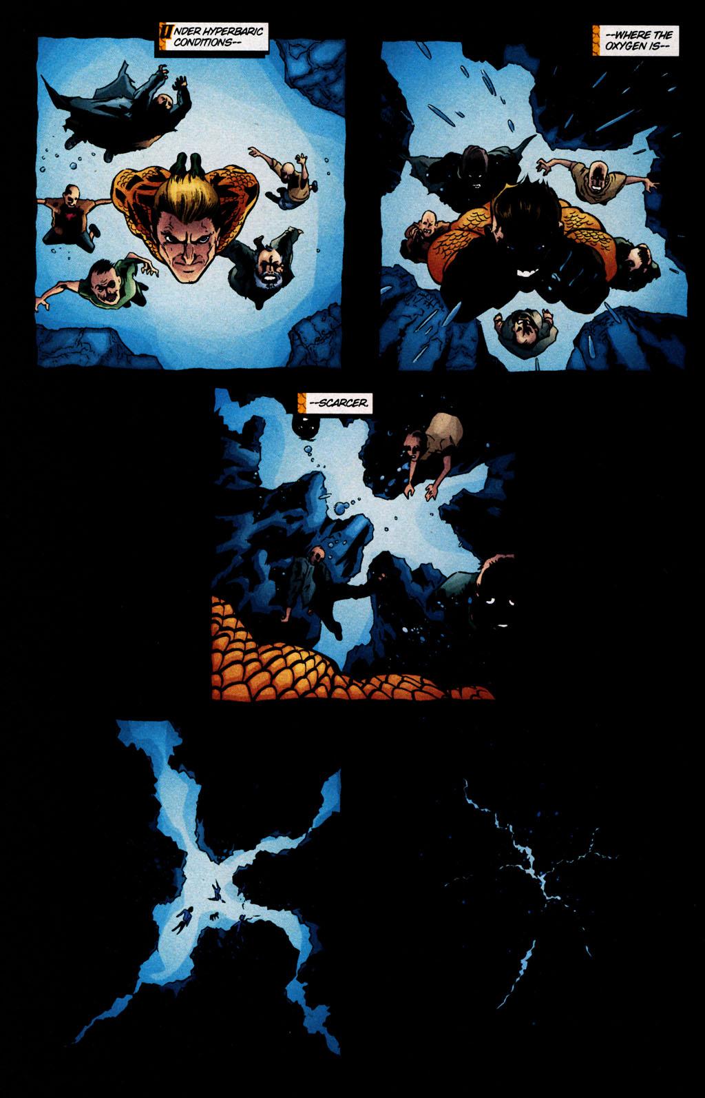 Read online Aquaman (2003) comic -  Issue #25 - 20
