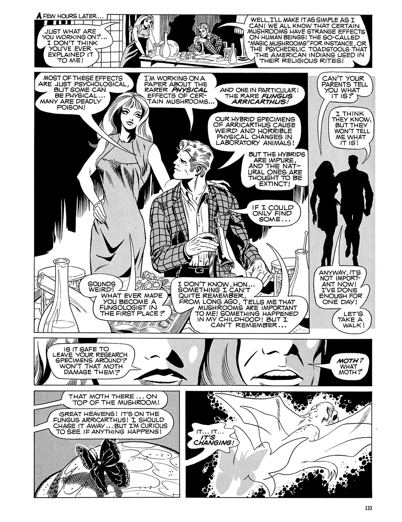 Read online Eerie Archives comic -  Issue # TPB 5 - 134