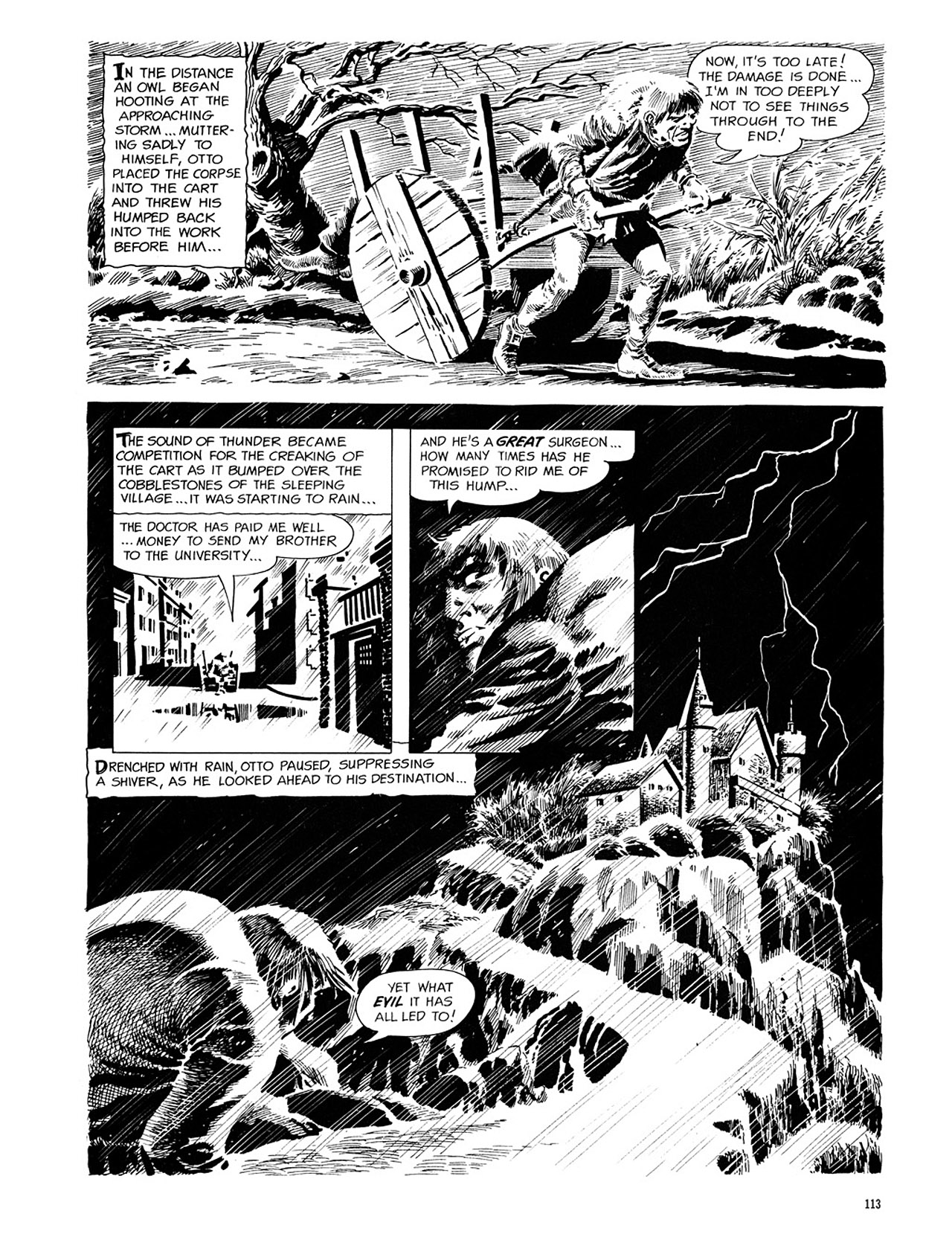 Read online Eerie Archives comic -  Issue # TPB 1 - 114