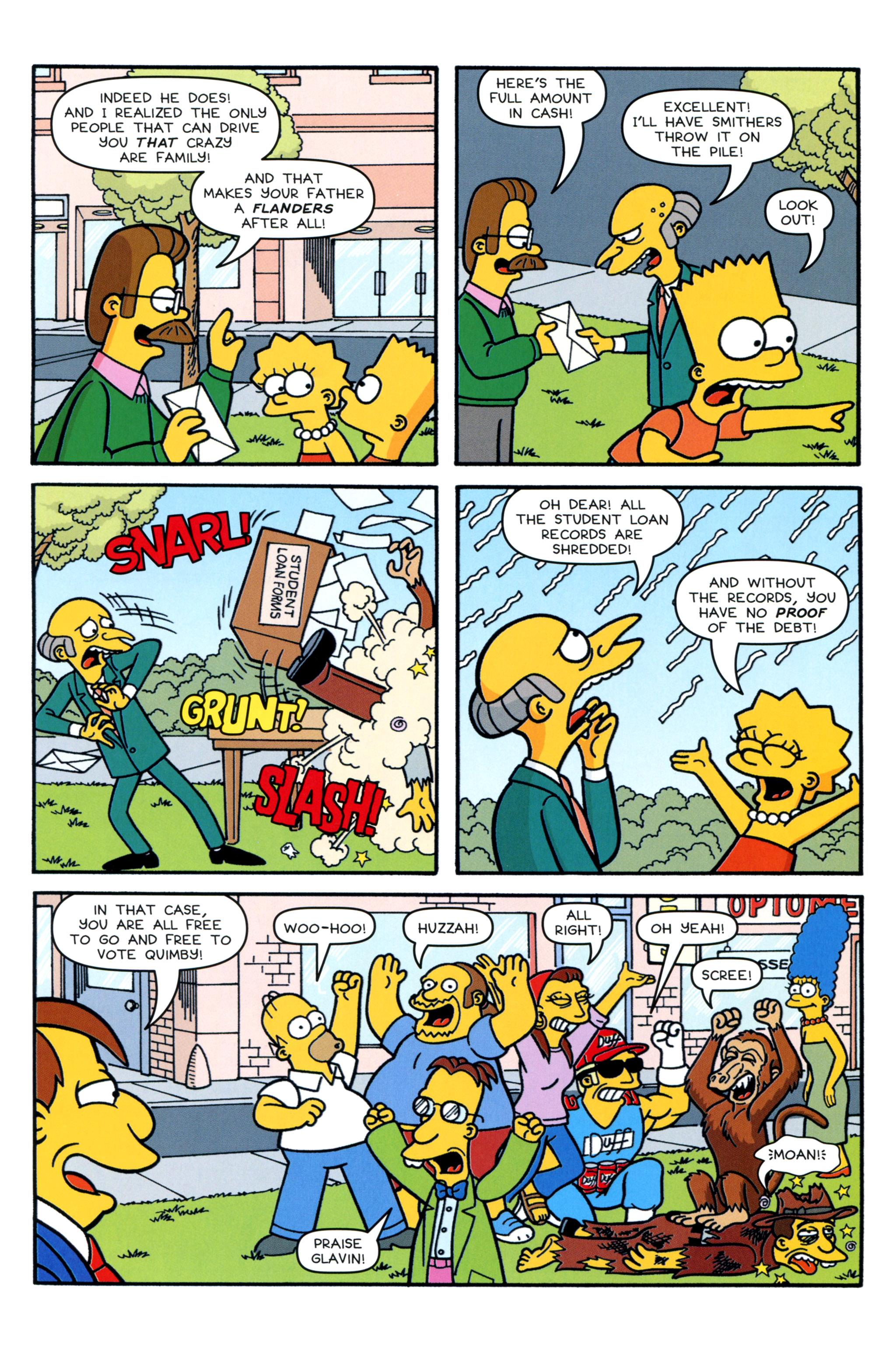Read online Simpsons Comics comic -  Issue #213 - 23