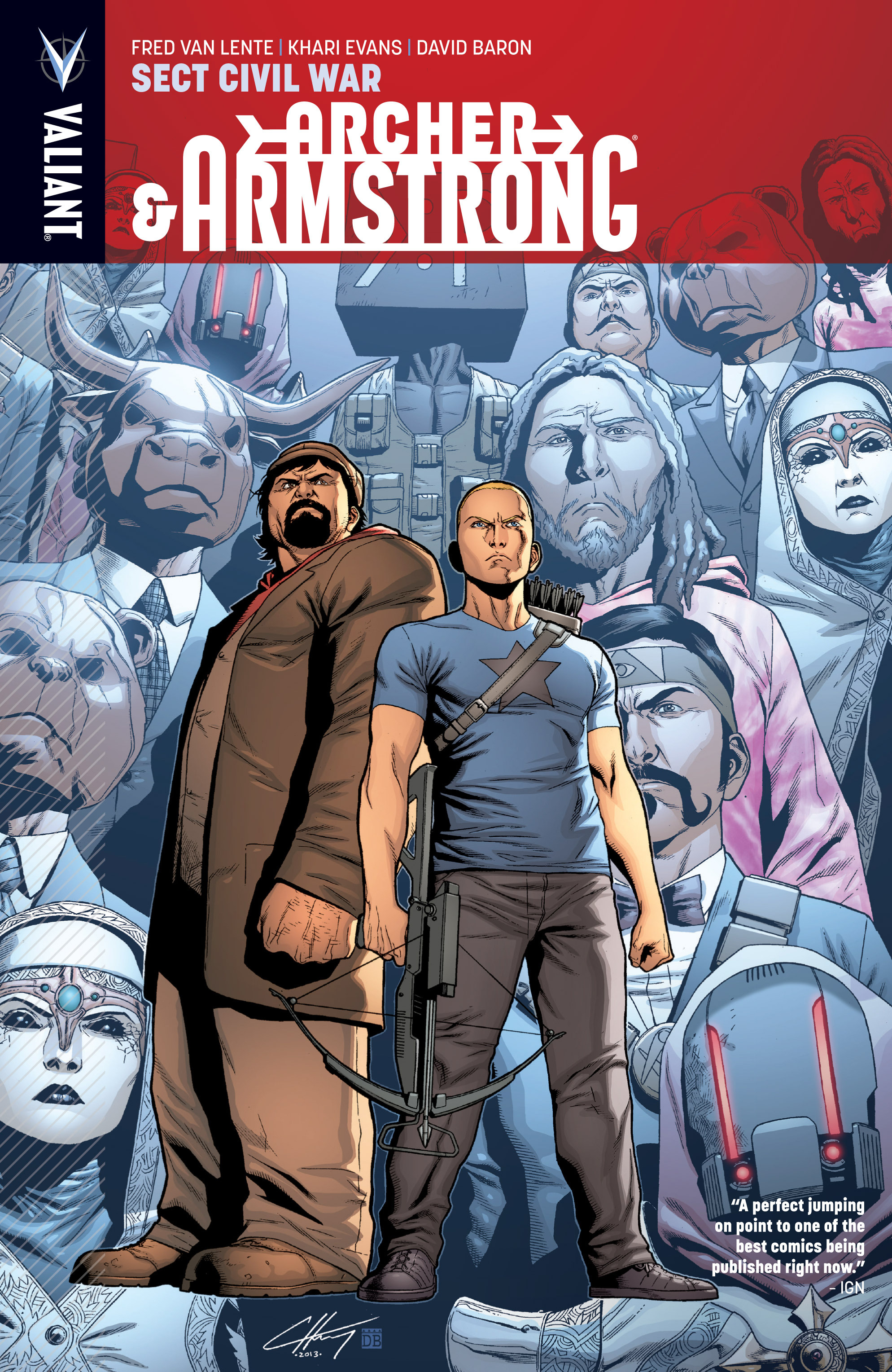 Read online Archer and Armstrong comic -  Issue #Archer and Armstrong _TPB 4 - 1