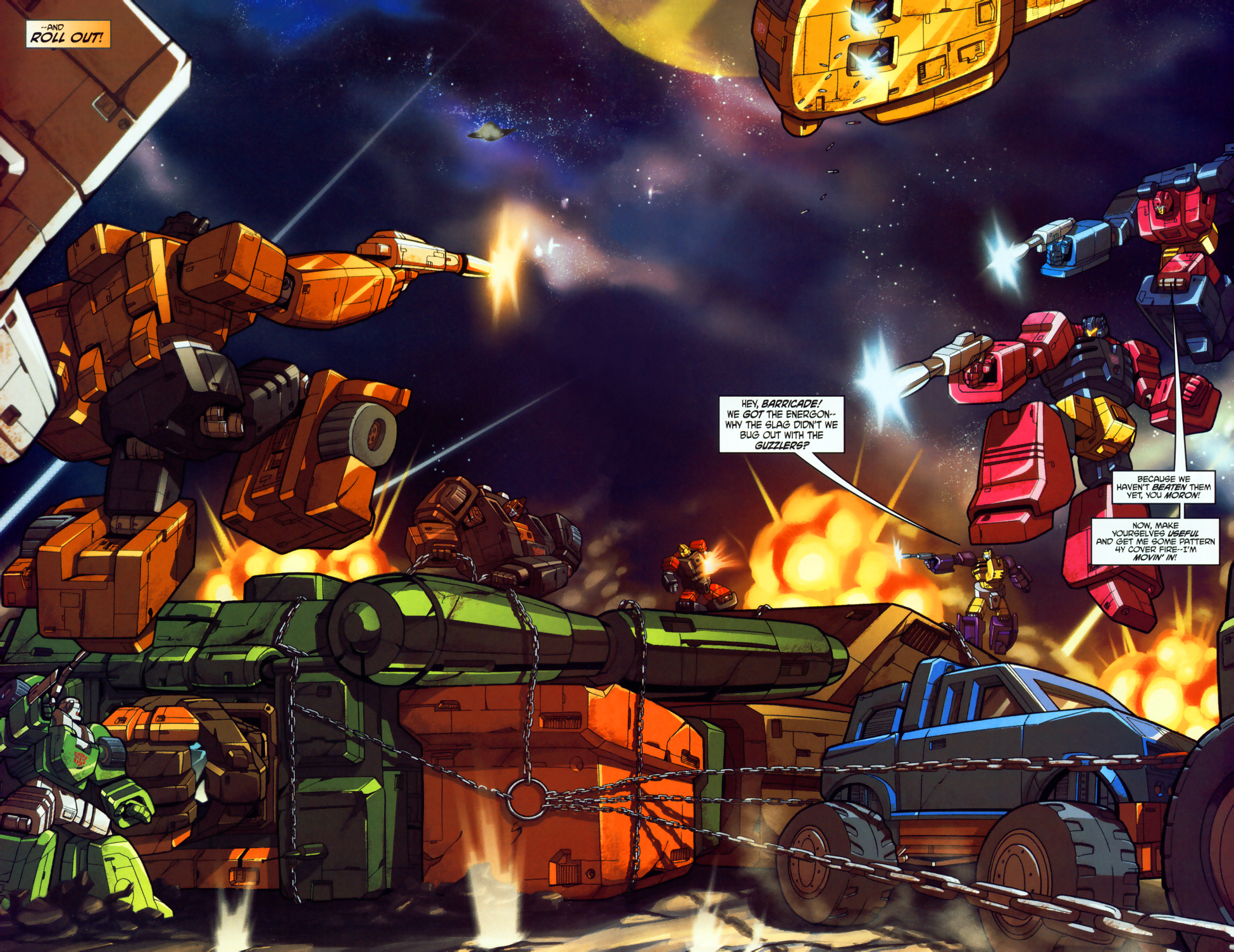 Read online Transformers: Micromasters comic -  Issue #1 - 5