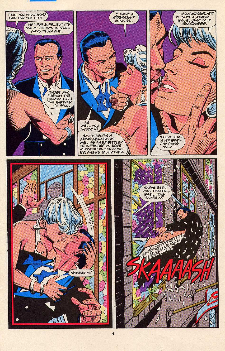 Read online Silver Sable and the Wild Pack comic -  Issue #3 - 5